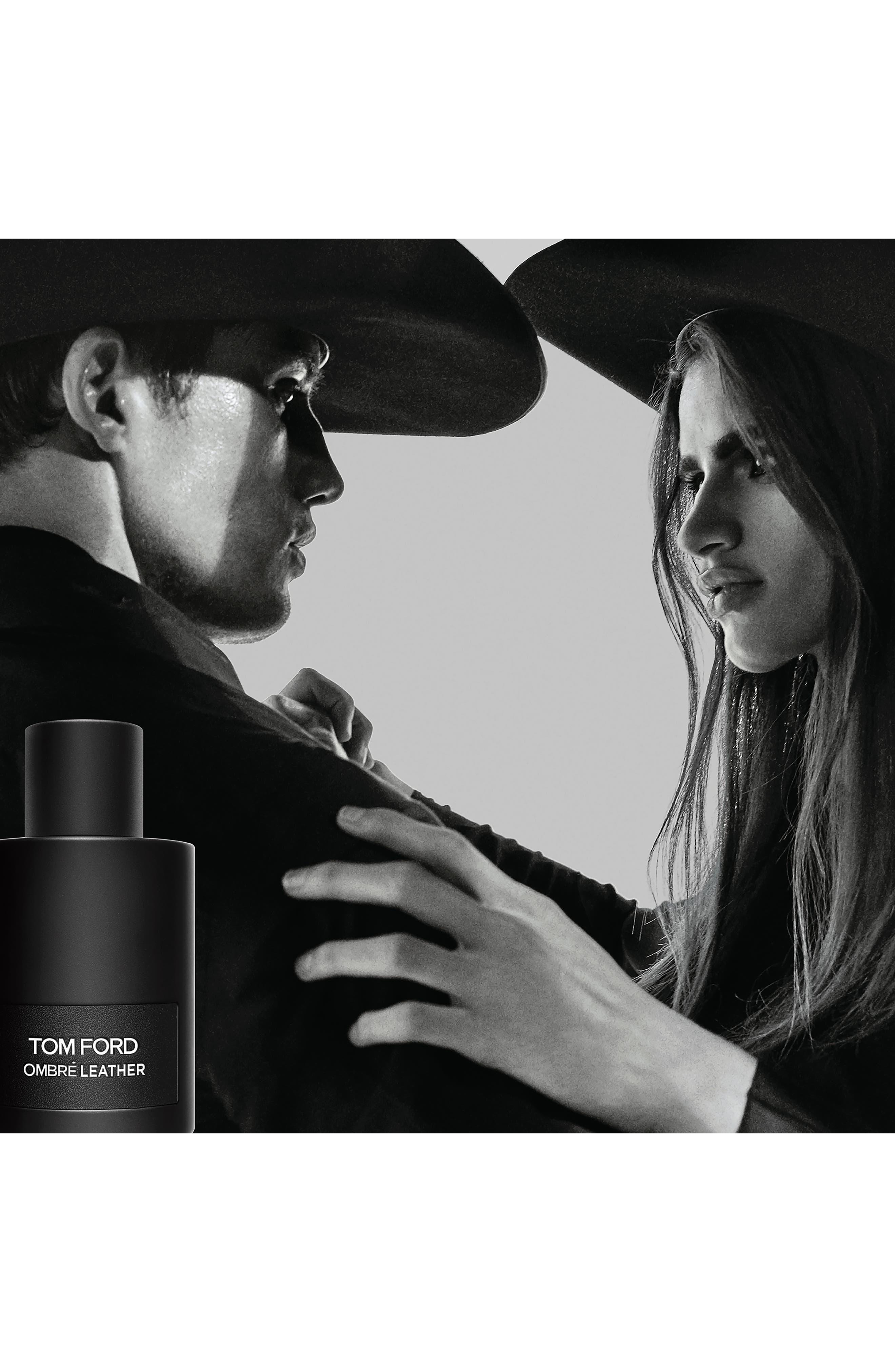 TOM FORD, Ombré Leather Eau de Parfum, Alternate thumbnail 3, color, NO COLOR
