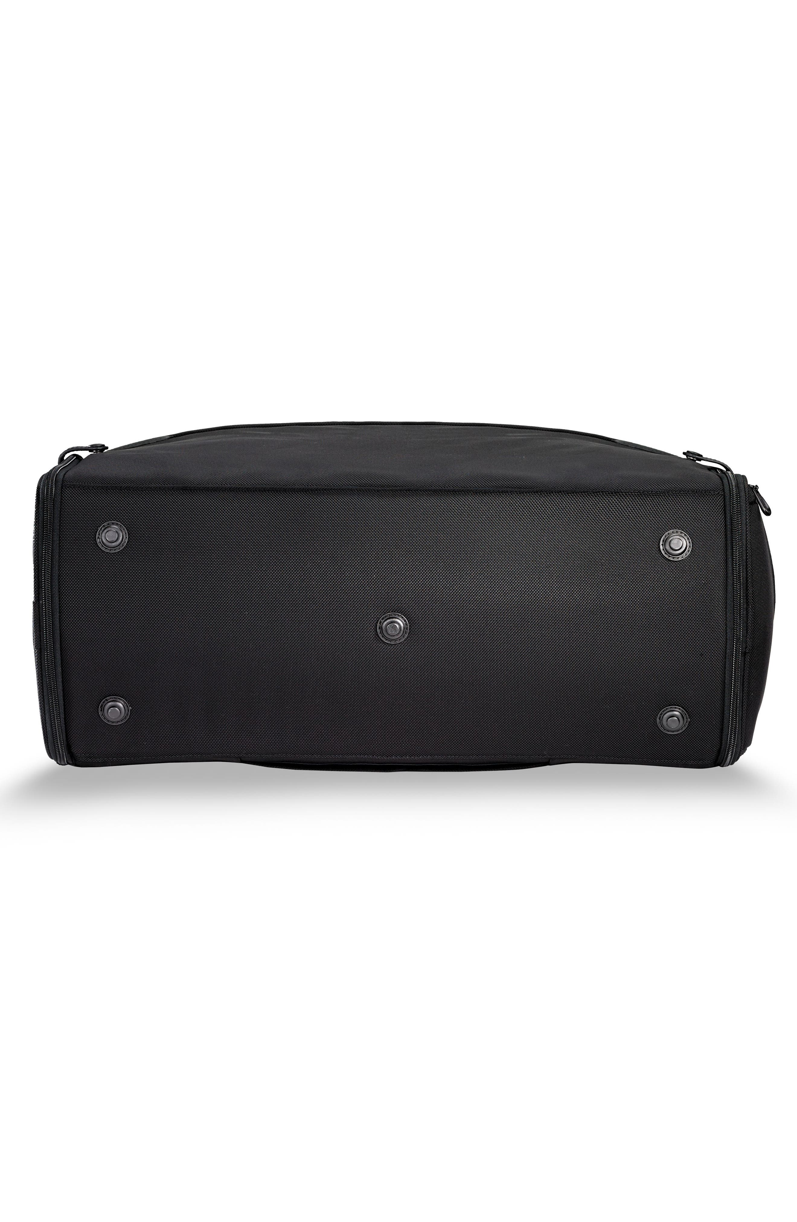 BRIGGS & RILEY, Baseline Suiter Duffle Bag, Alternate thumbnail 6, color, BLACK
