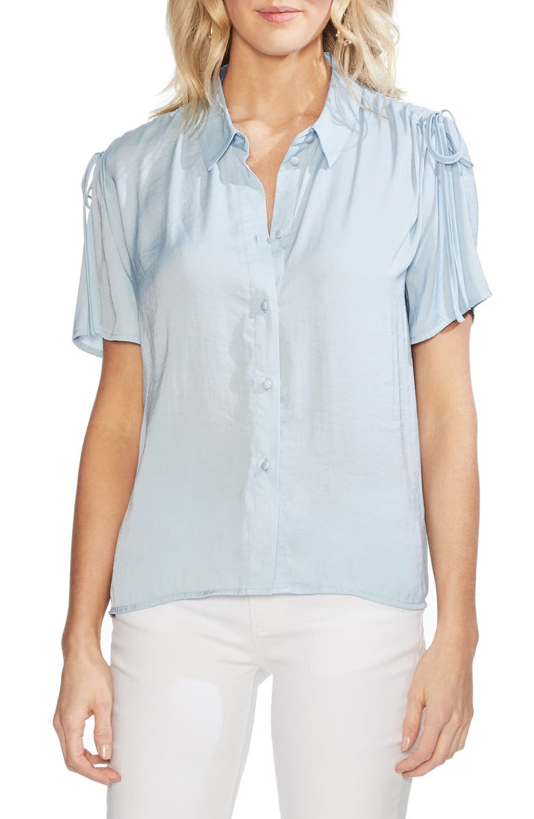 Vince Camuto Tops DRAWSTRING SHOULDER BLOUSE