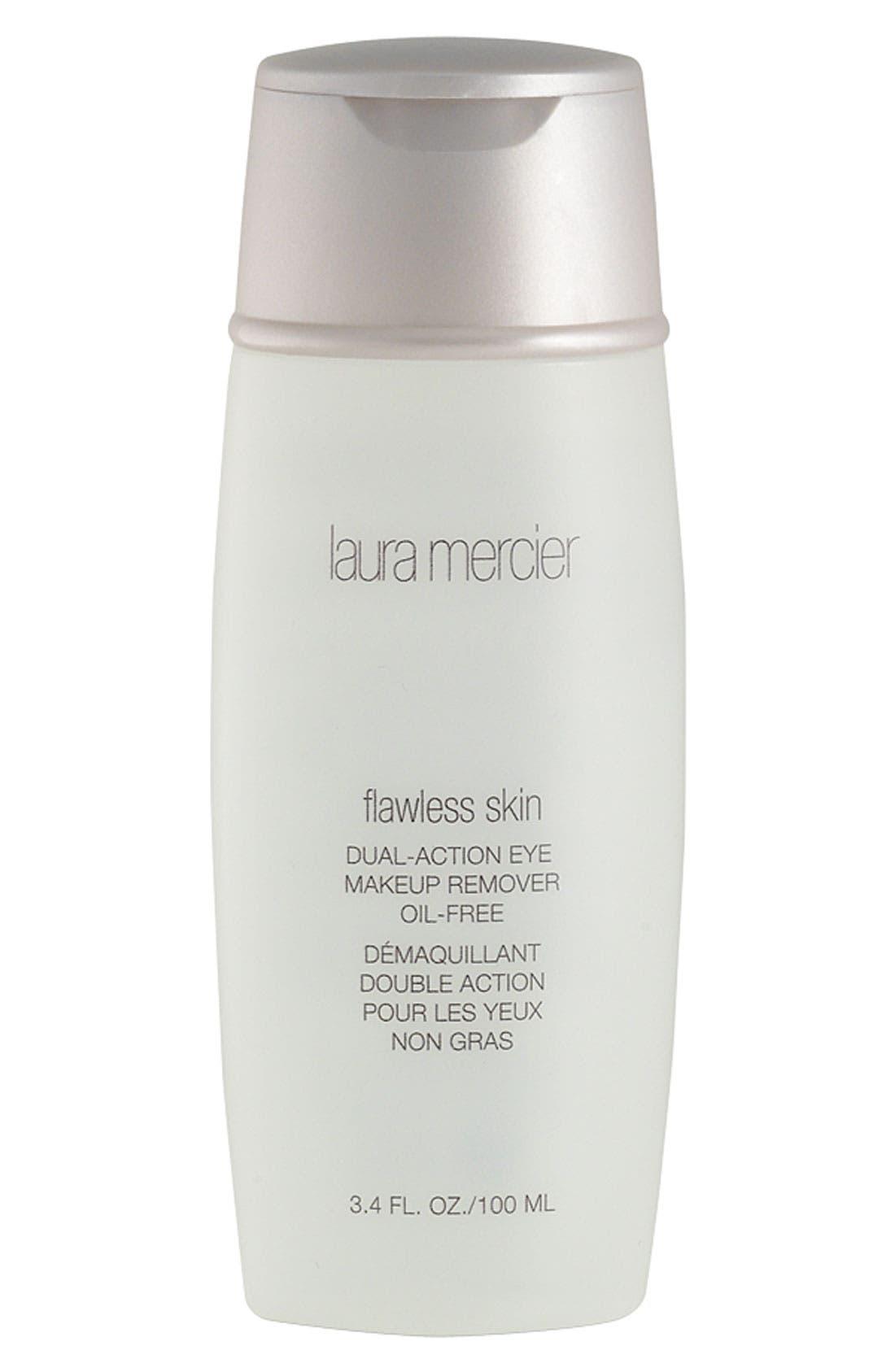 LAURA MERCIER, 'Flawless Skin' Dual-Action Eye Makeup Remover, Main thumbnail 1, color, NO COLOR