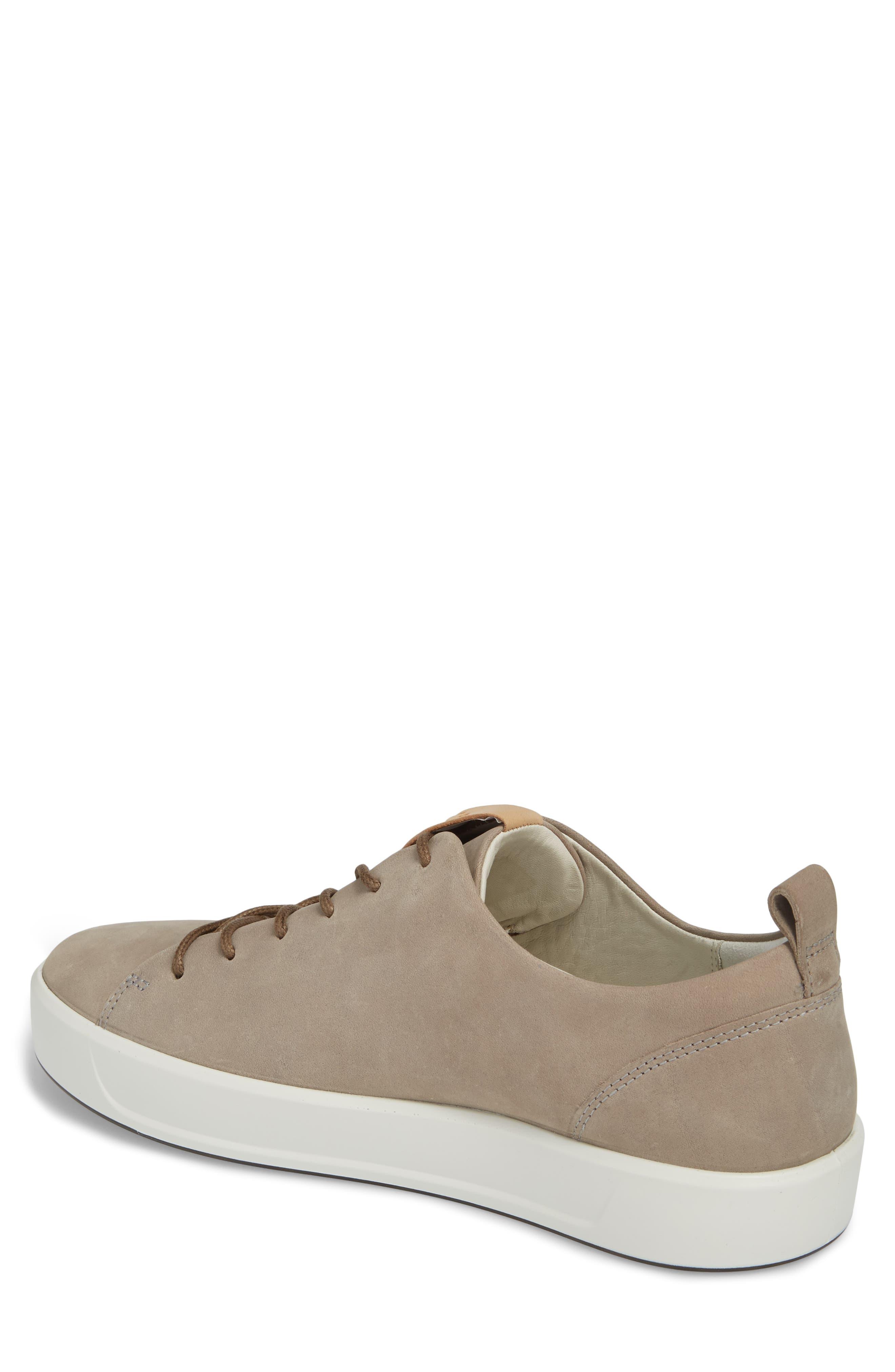 ECCO, Soft 8 Sneaker, Alternate thumbnail 2, color, MOONROCK