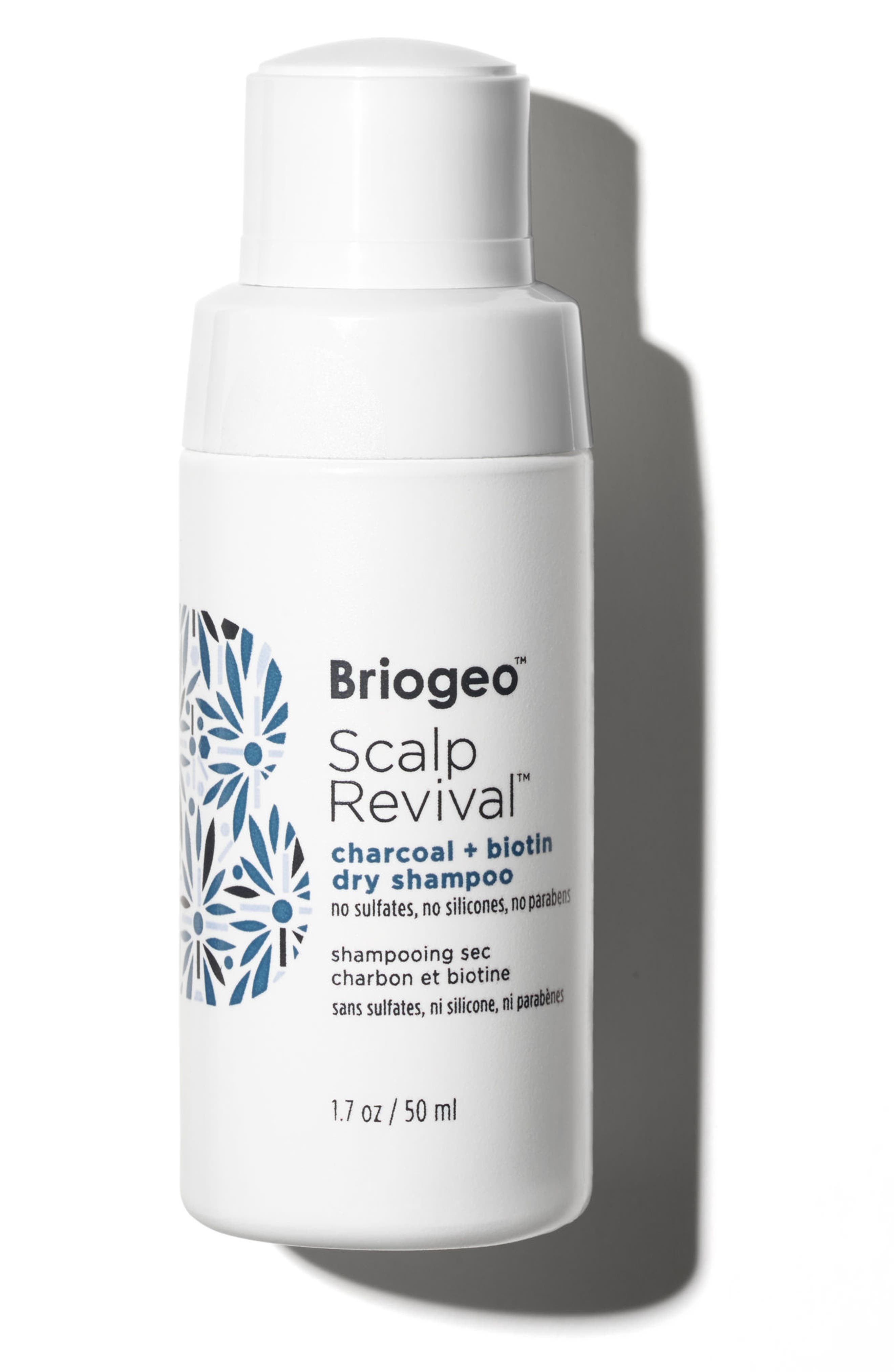 BRIOGEO Scalp Revival Charcoal + Biotin Dry Shampoo, Main, color, NO COLOR