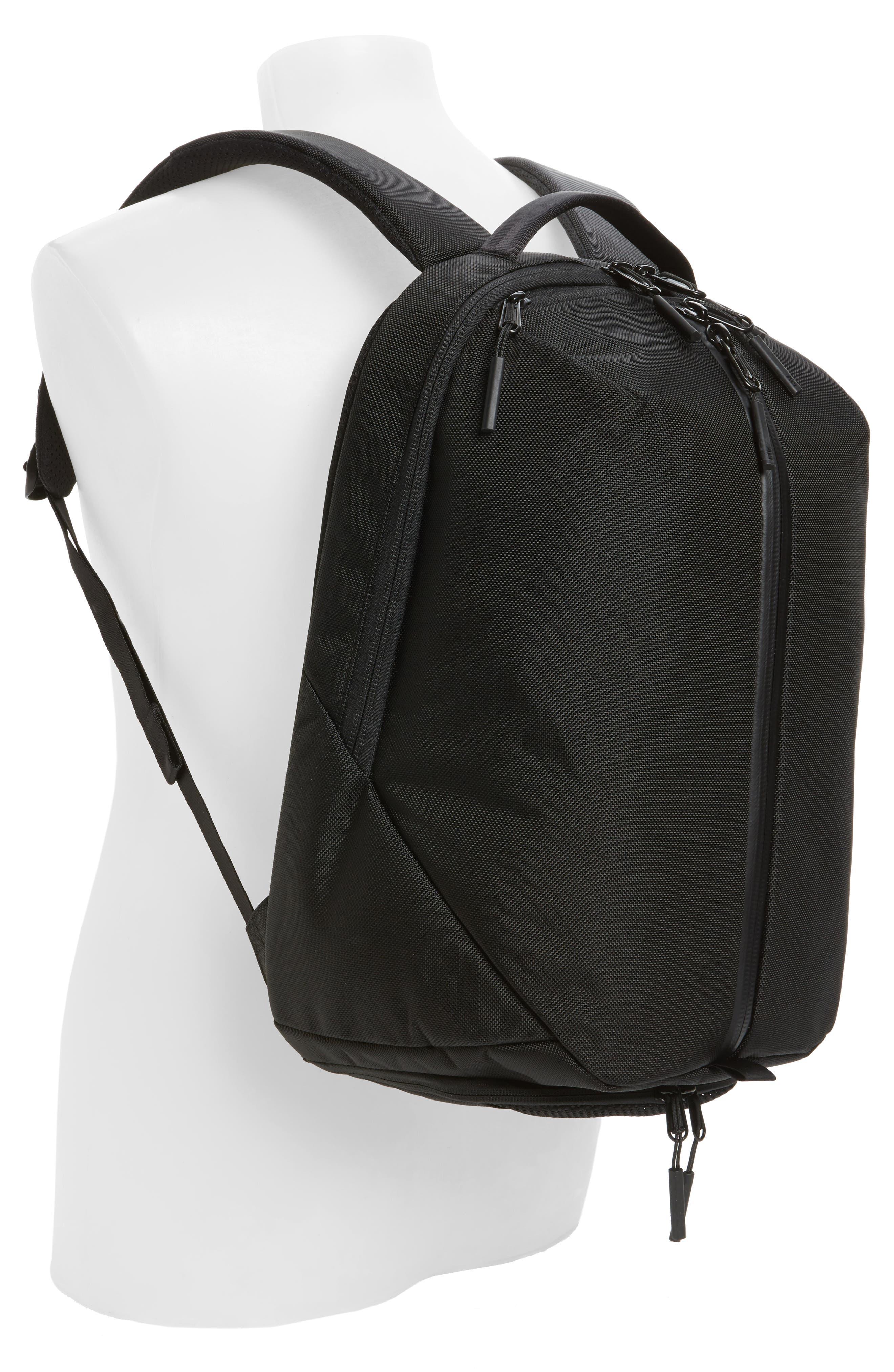 AER, Fit Pack 2 Backpack, Alternate thumbnail 2, color, BLACK