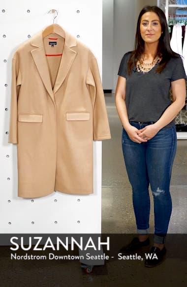 Lily Knit Back Midi Coat, sales video thumbnail