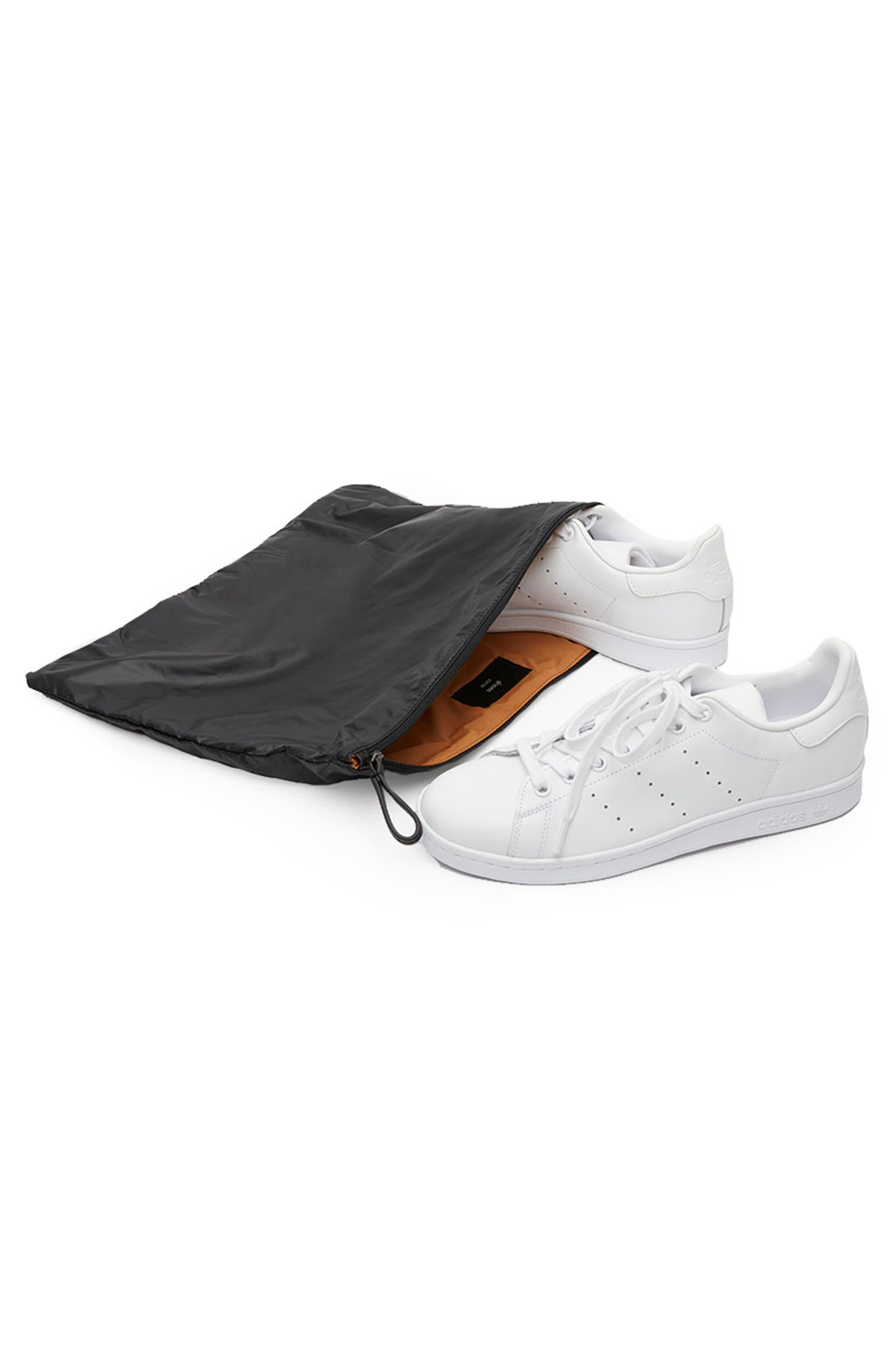 CARAA, Stratus Waterproof Backpack, Alternate thumbnail 8, color, BLACK