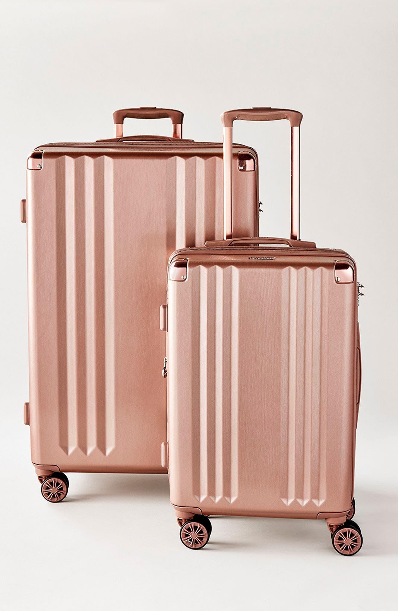 CALPAK, Ambeur 2-Piece Spinner Luggage Set, Alternate thumbnail 3, color, WHITE