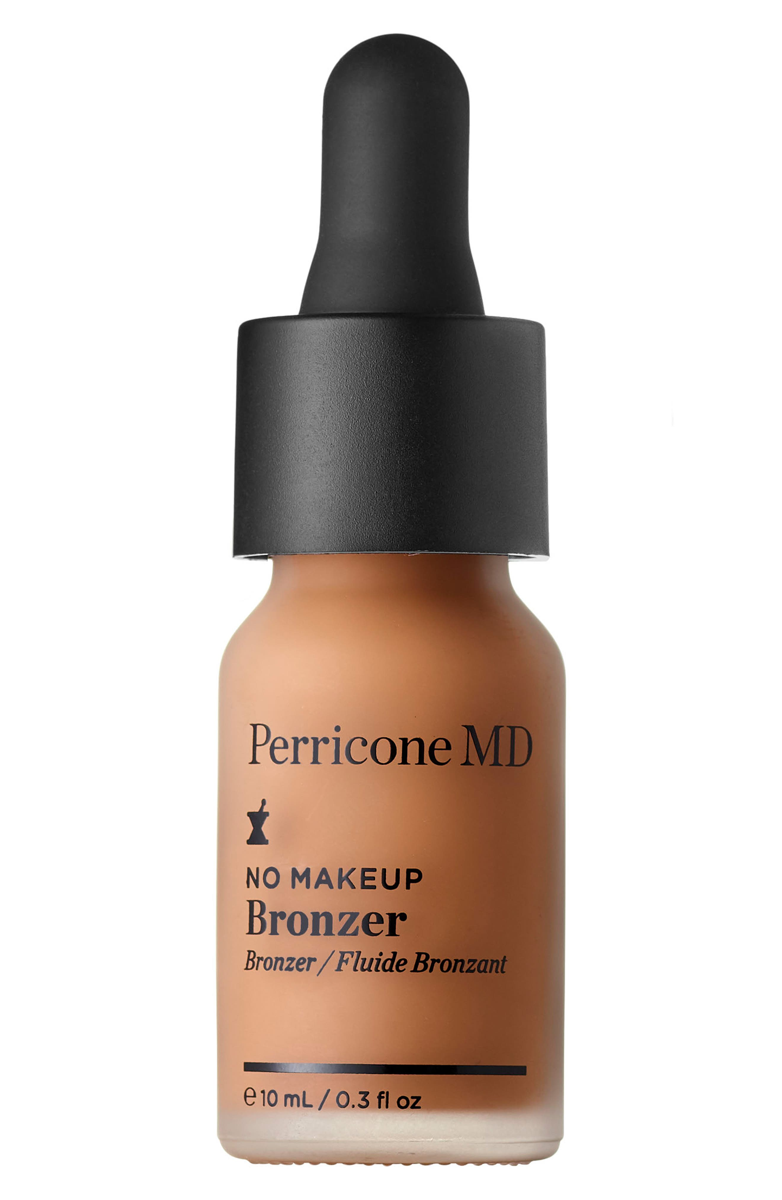 PERRICONE MD, No Makeup Bronzer Broad Spectrum SPF 15, Main thumbnail 1, color, 000