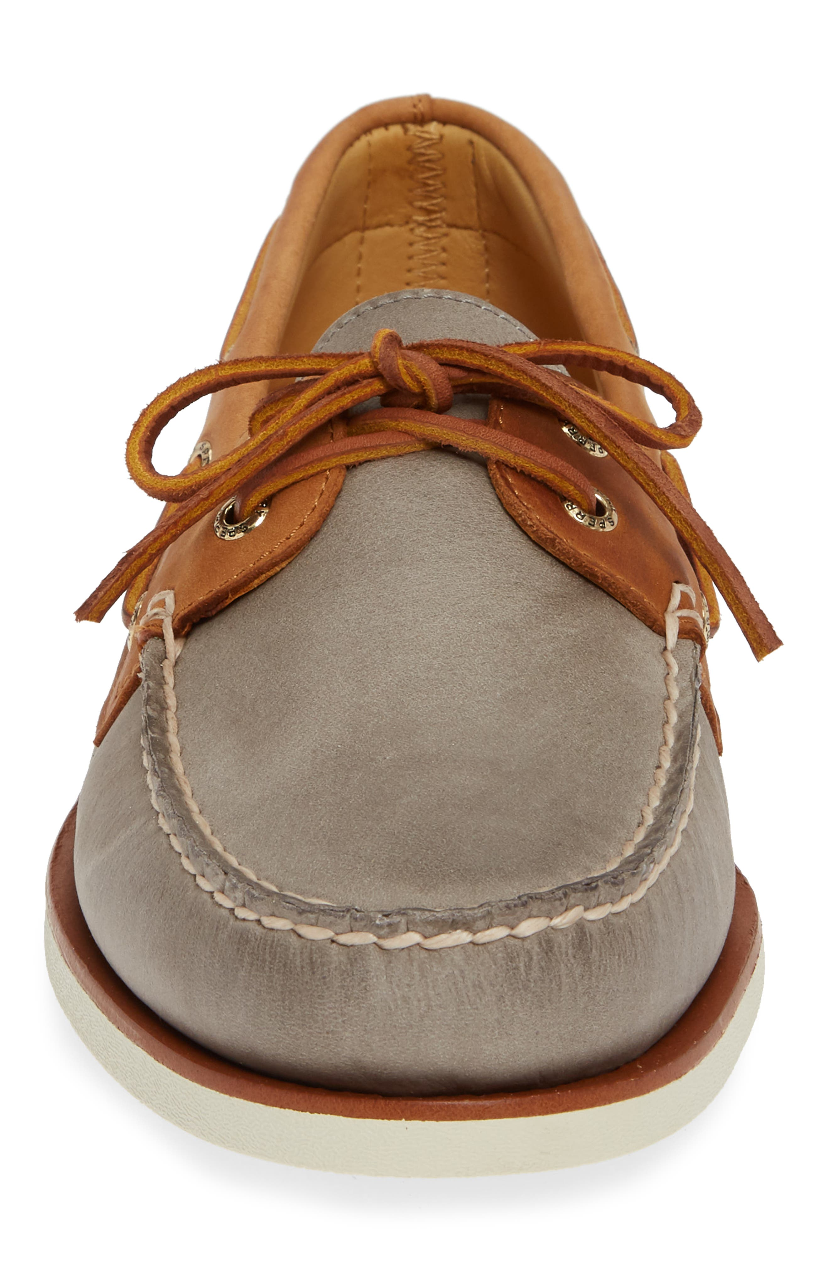 SPERRY, Gold Cup AO Boat Shoe, Alternate thumbnail 4, color, 020