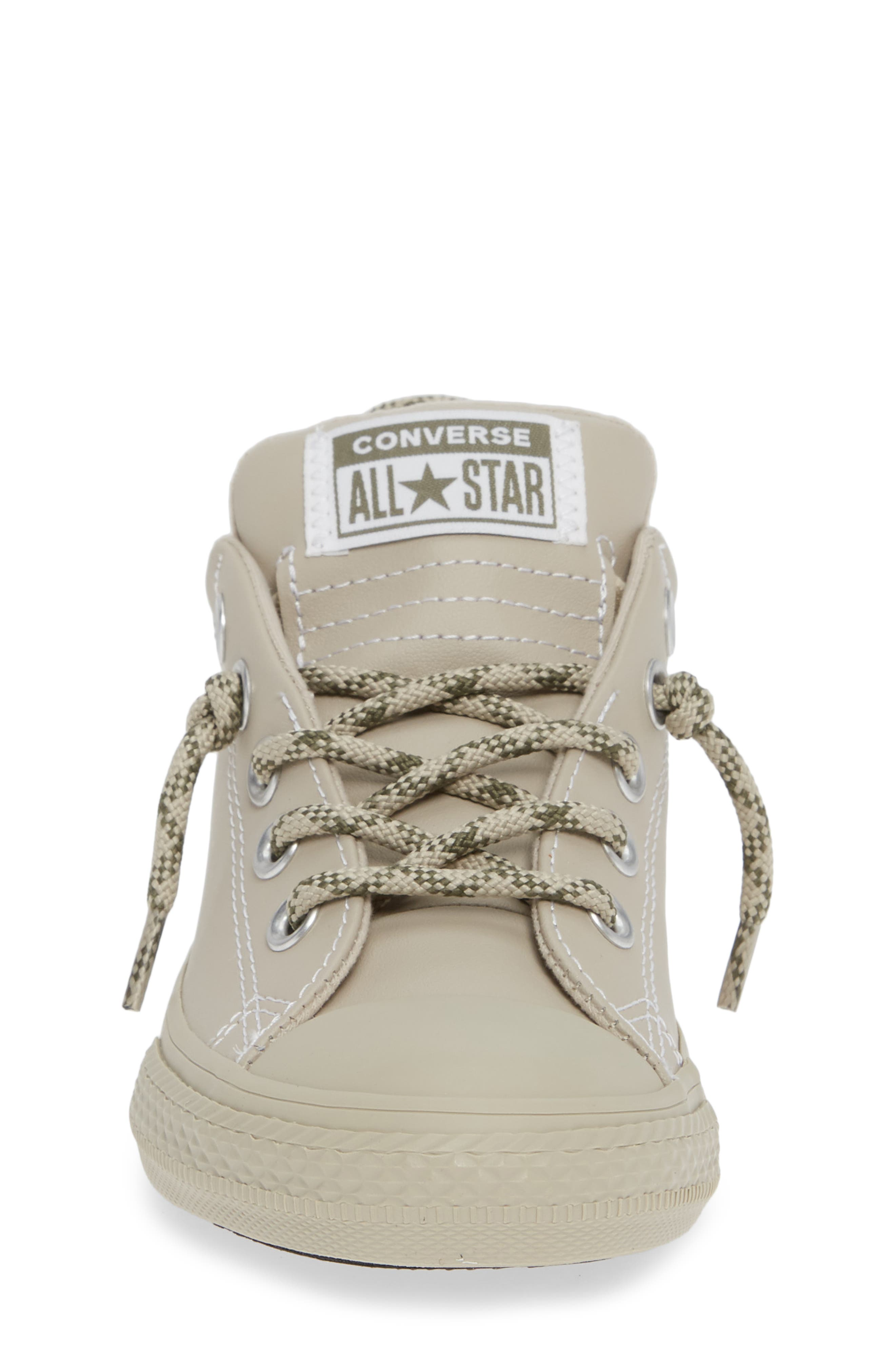 CONVERSE, Chuck Taylor<sup>®</sup> All Star<sup>®</sup> Street Hiker Sneaker, Alternate thumbnail 4, color, PAPYRUS