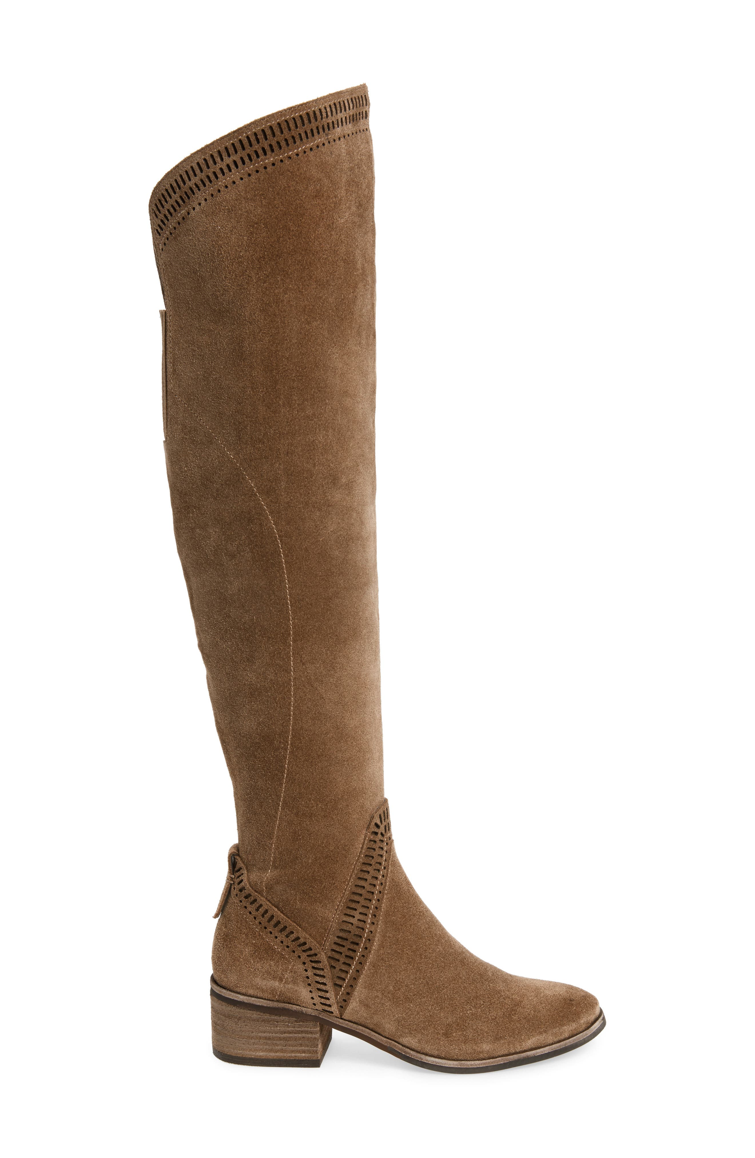 VINCE CAMUTO, Karinda Over the Knee Boot, Alternate thumbnail 3, color, 200
