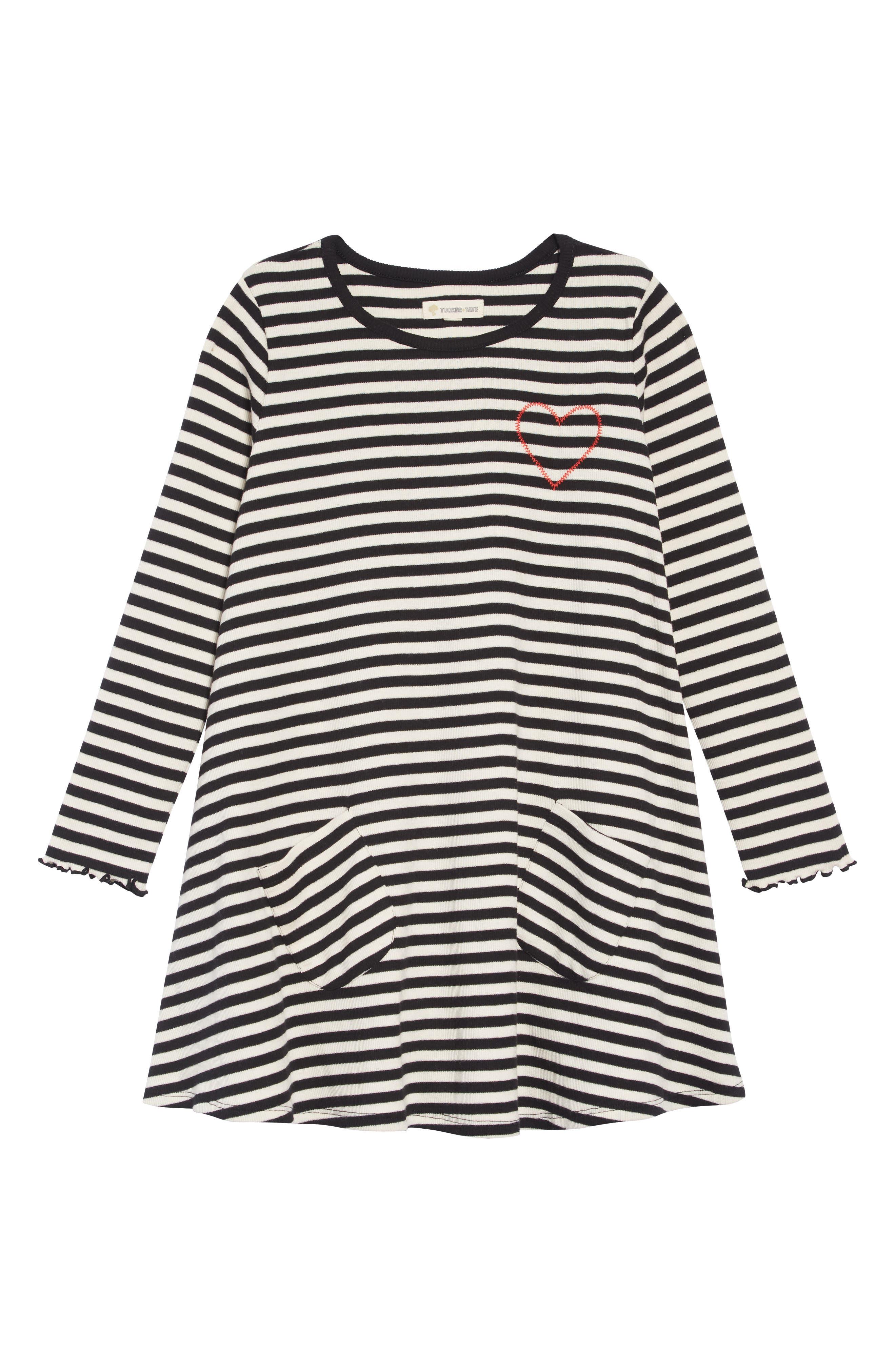 Toddler Girls Tucker  Tate Thermal Swing Dress Size 3T  Black