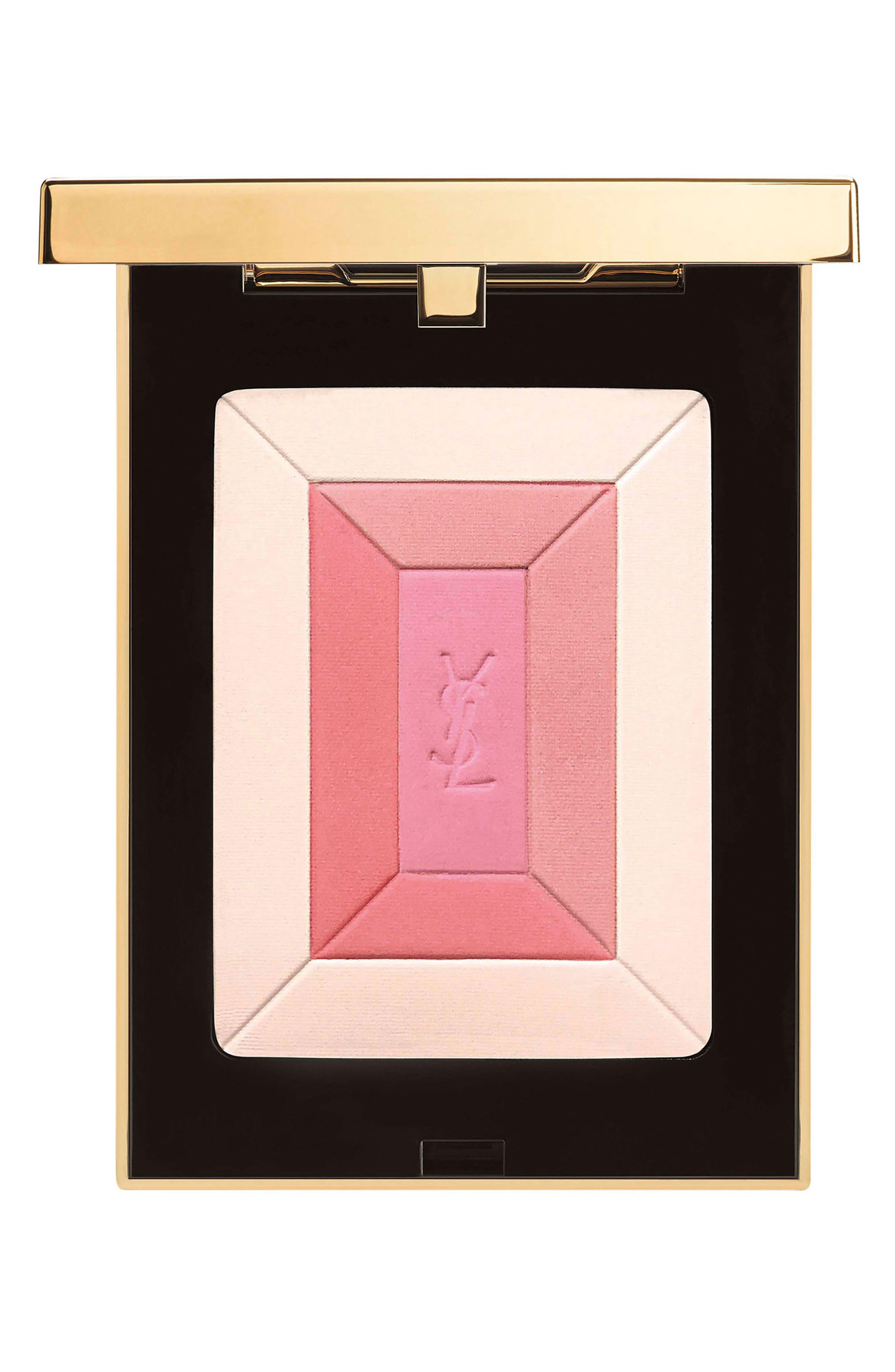 YVES SAINT LAURENT, Shimmer Rush Face Palette, Main thumbnail 1, color, 000