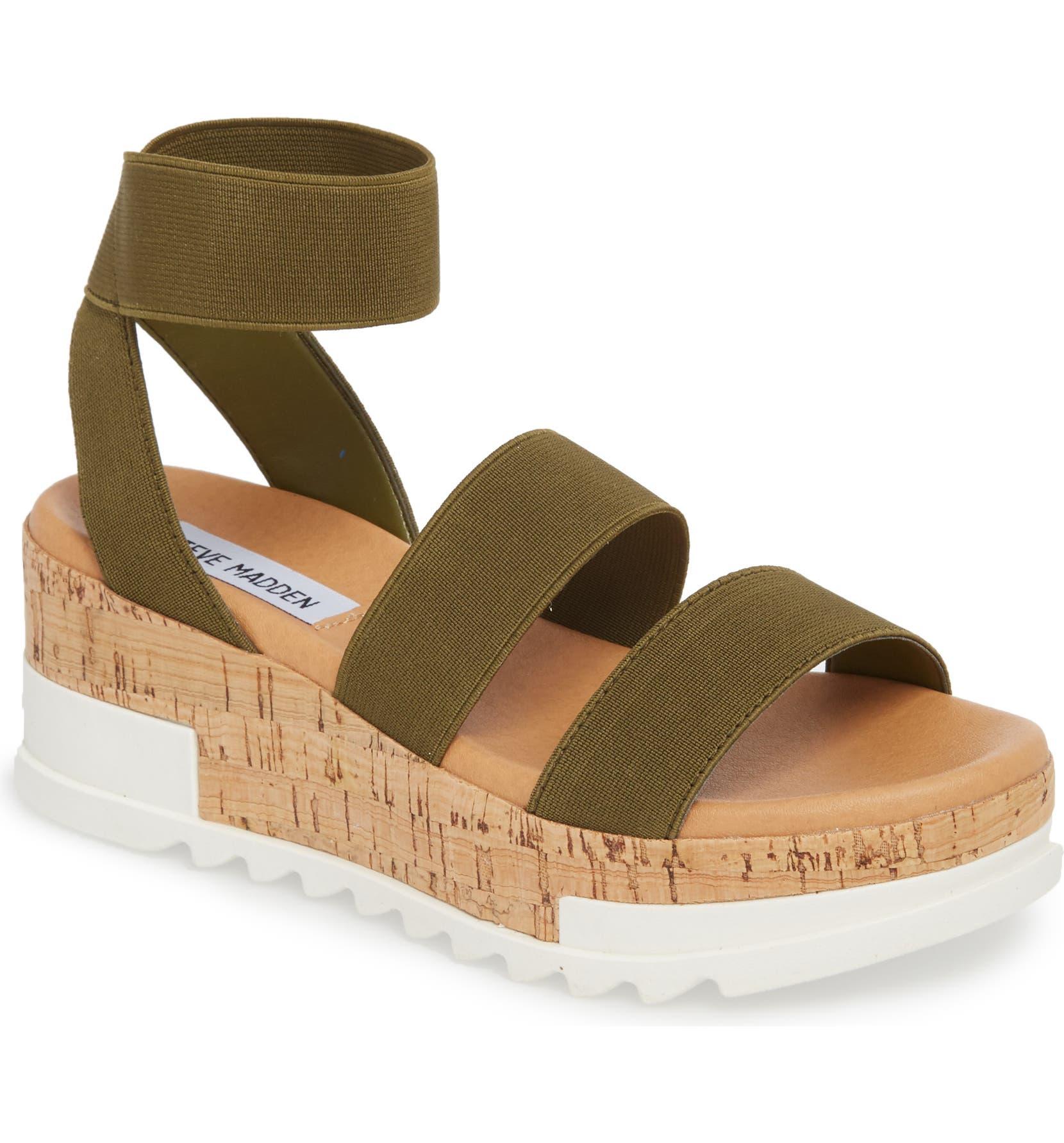 e4efdca2df0e Steve Madden Bandi Platform Wedge Sandal (Women)