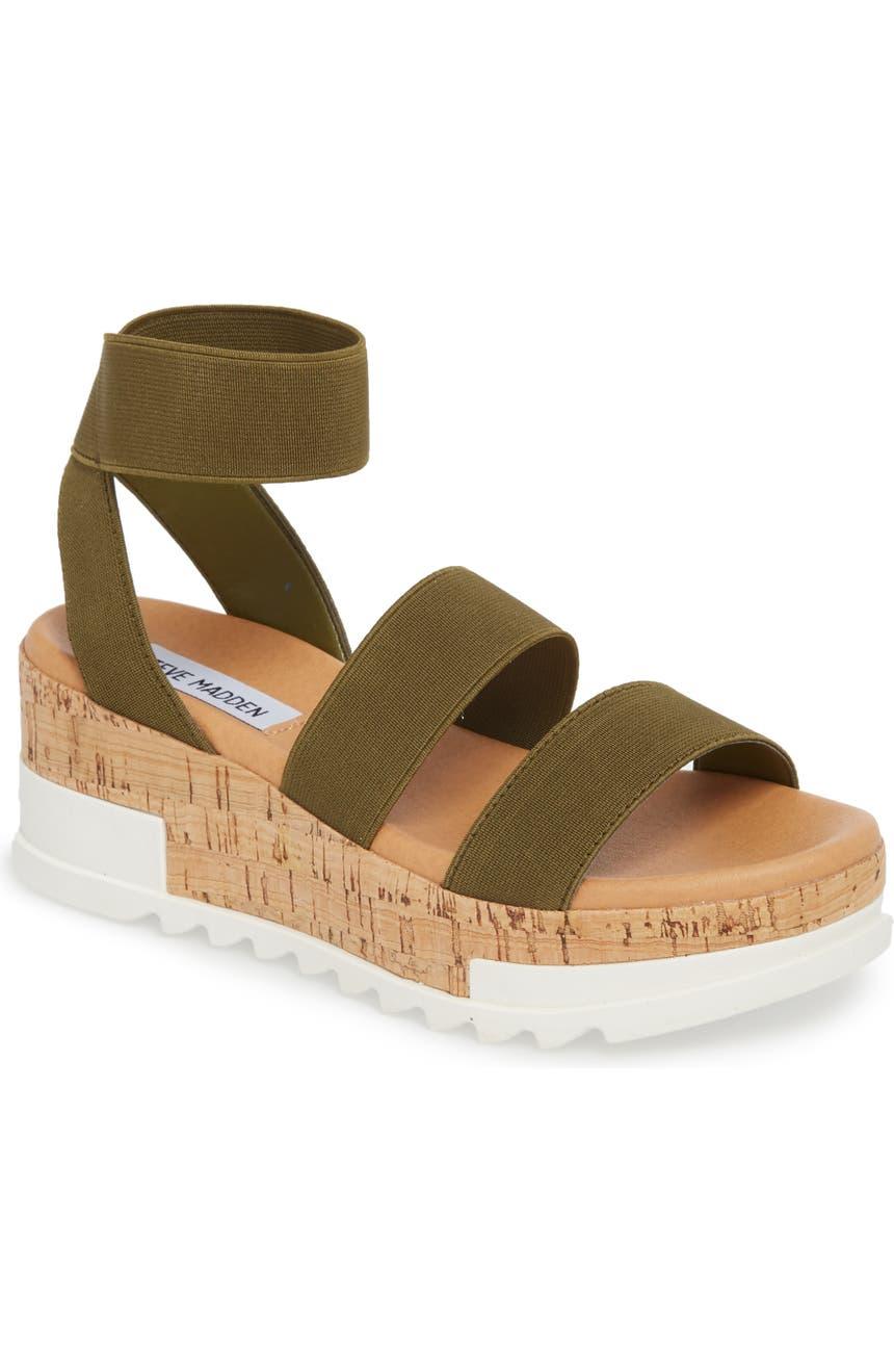 ac13cc7fcc9a Steve Madden Bandi Platform Wedge Sandal (Women)