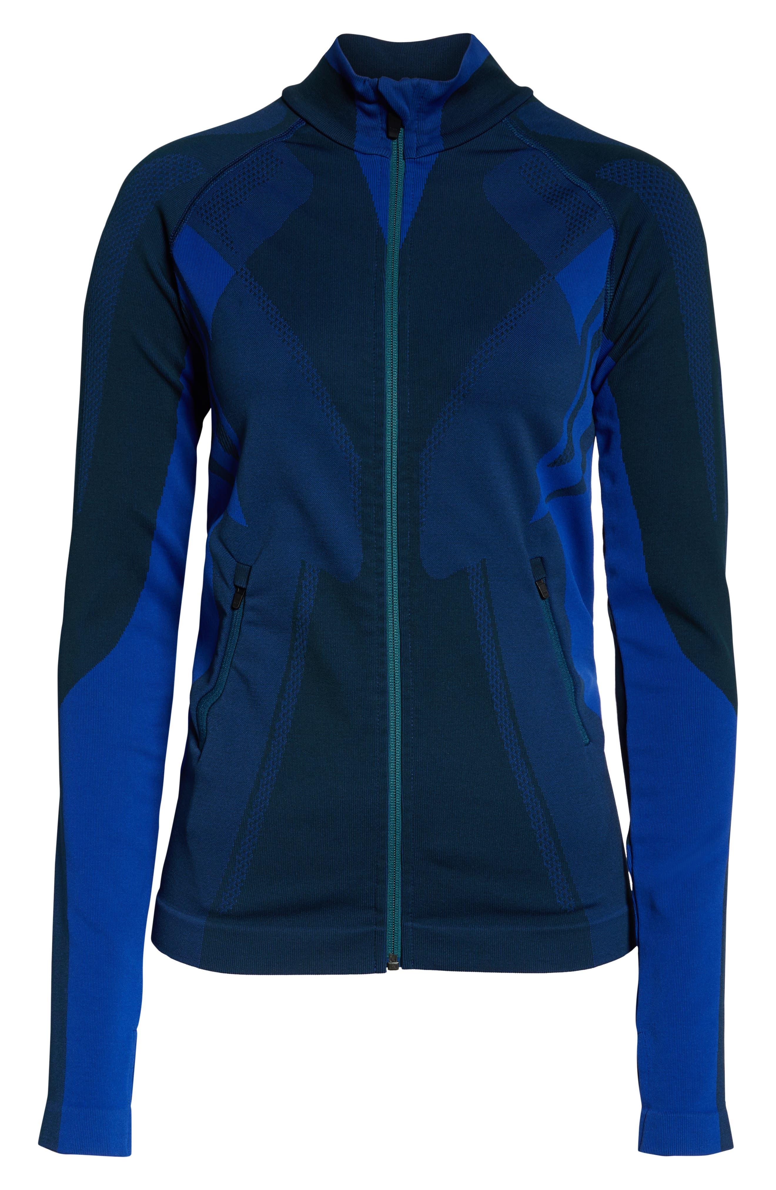 LNDR, All Seasons Jacket, Alternate thumbnail 3, color, ALL SEASONS JACKET BLUE PETROL
