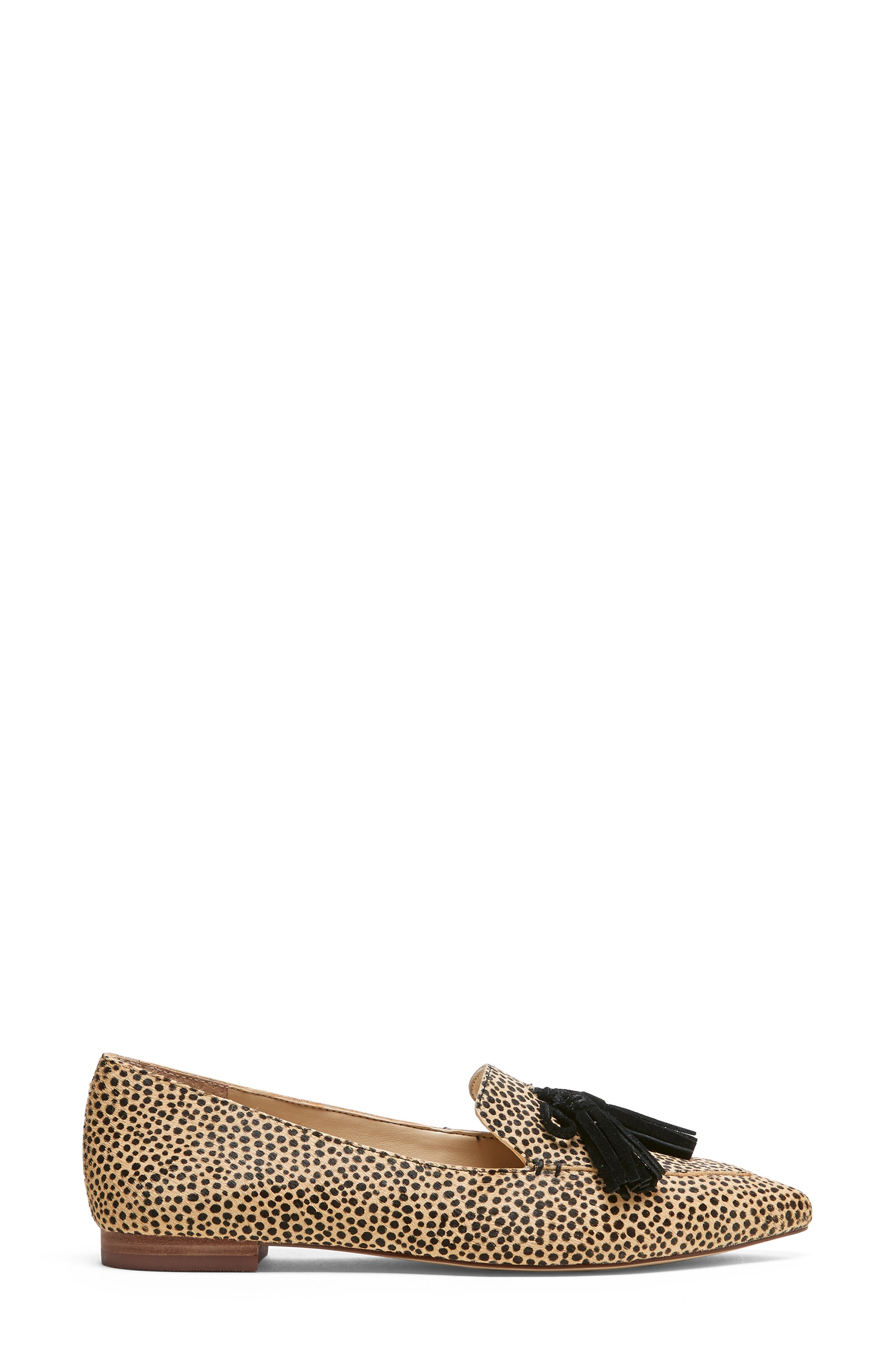 SOLE SOCIETY, Hadlee Loafer, Alternate thumbnail 2, color, DOTTED CALF HAIR