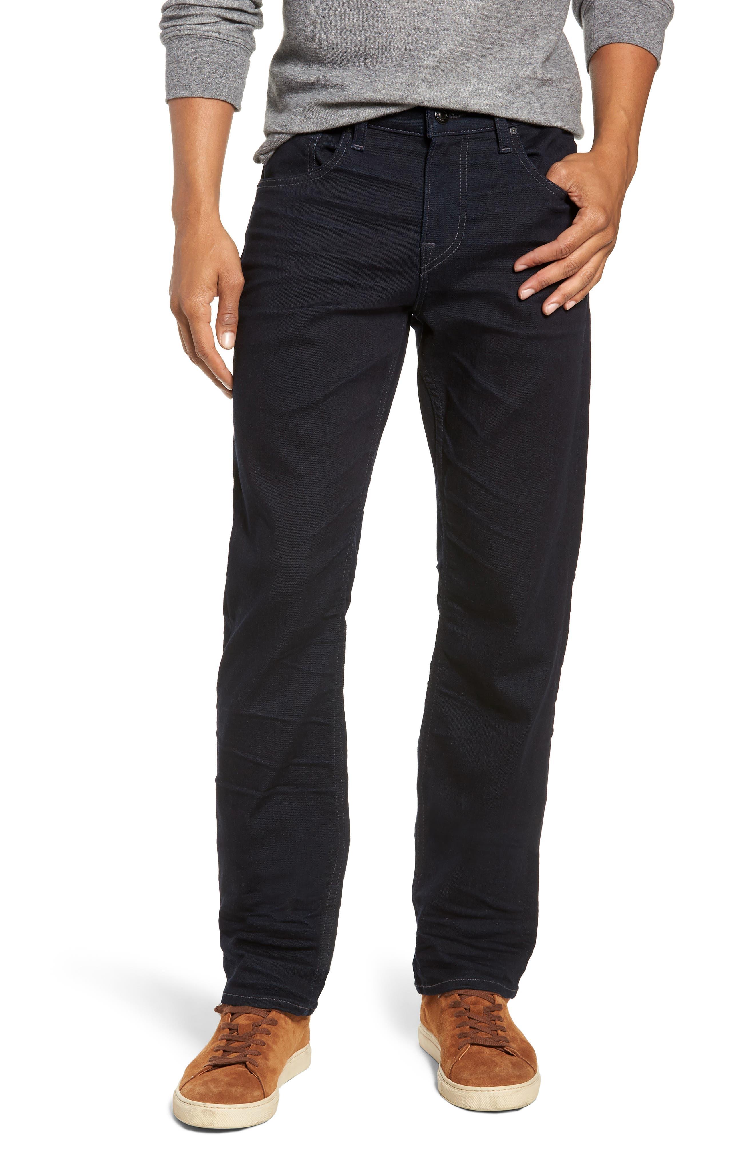 HUDSON JEANS Byron Slim Straight Leg Jeans, Main, color, TUDOR