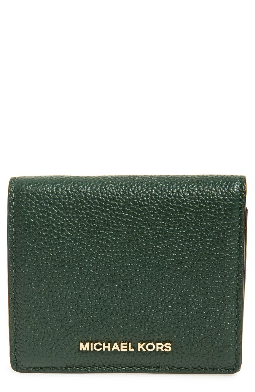3aa1ef4cc375 MICHAEL Michael Kors 'Mercer' Leather Card Case | Nordstrom