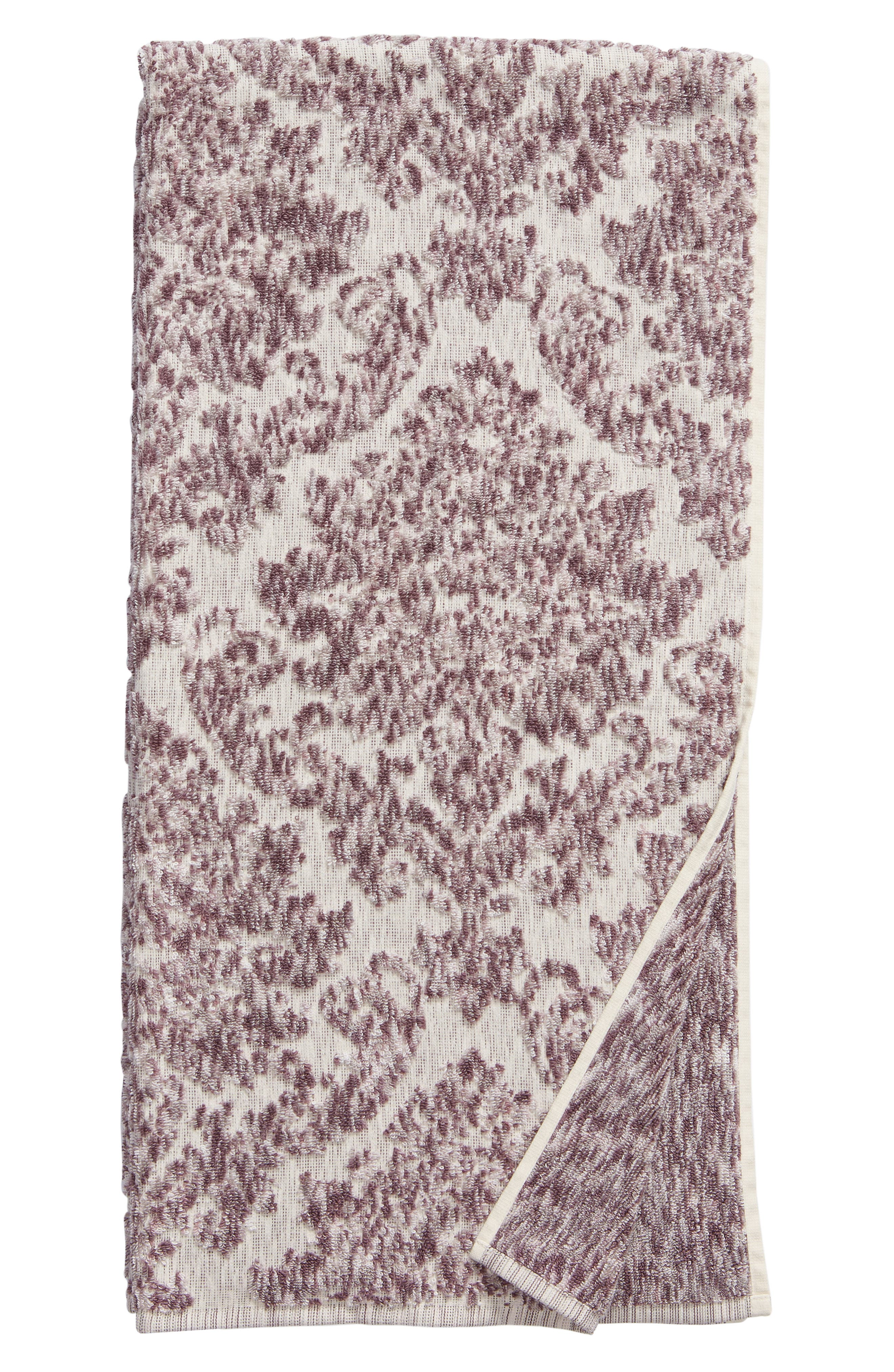 Nordstrom At Home Easton Bath Towel Size One Size  Pink