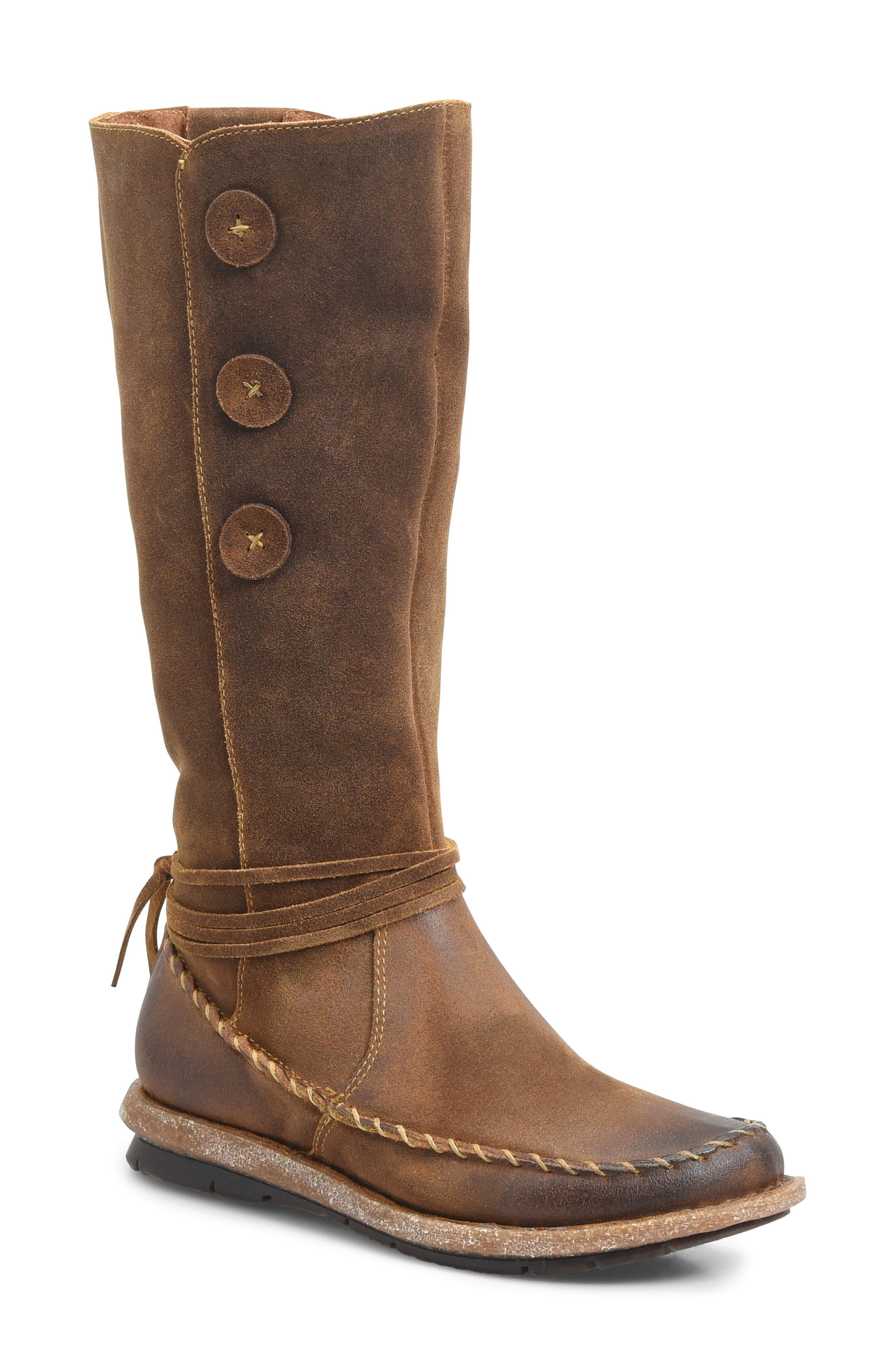 BØRN Torrey Boot, Main, color, RUST DISTRESSED LEATHER