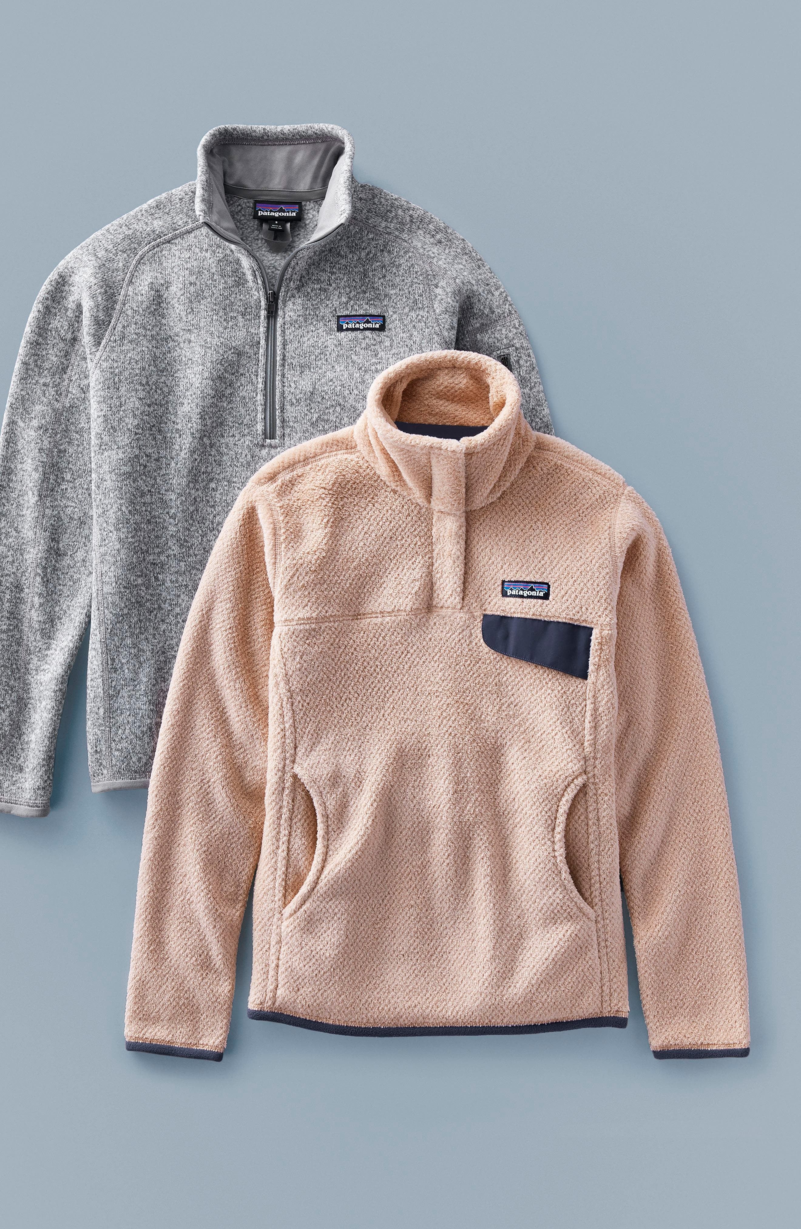 PATAGONIA, Re-Tool Snap-T<sup>®</sup> Fleece Pullover, Alternate thumbnail 2, color, 001