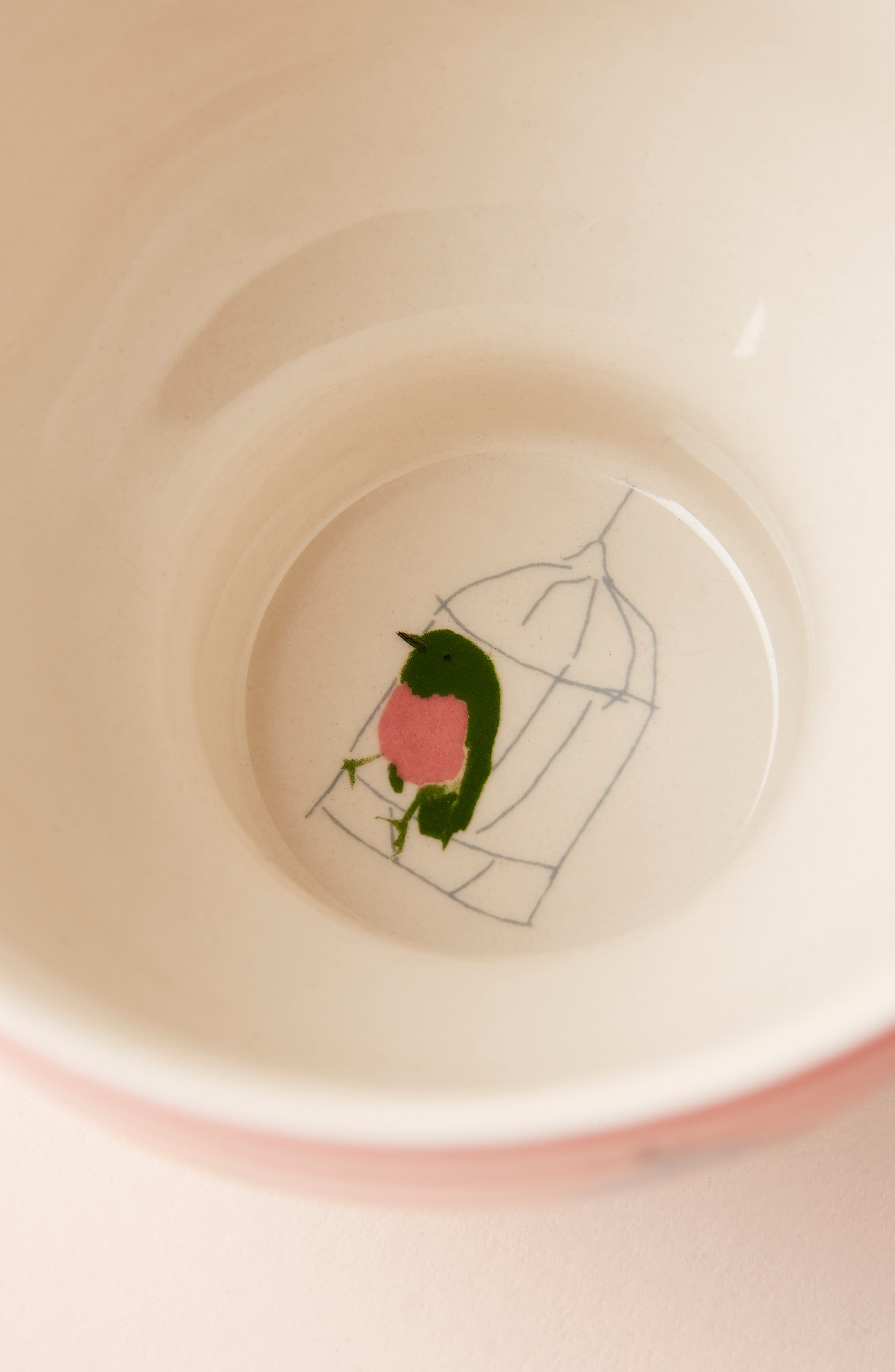 ANTHROPOLOGIE, Raven Roxanne Cup, Alternate thumbnail 3, color, NAVY