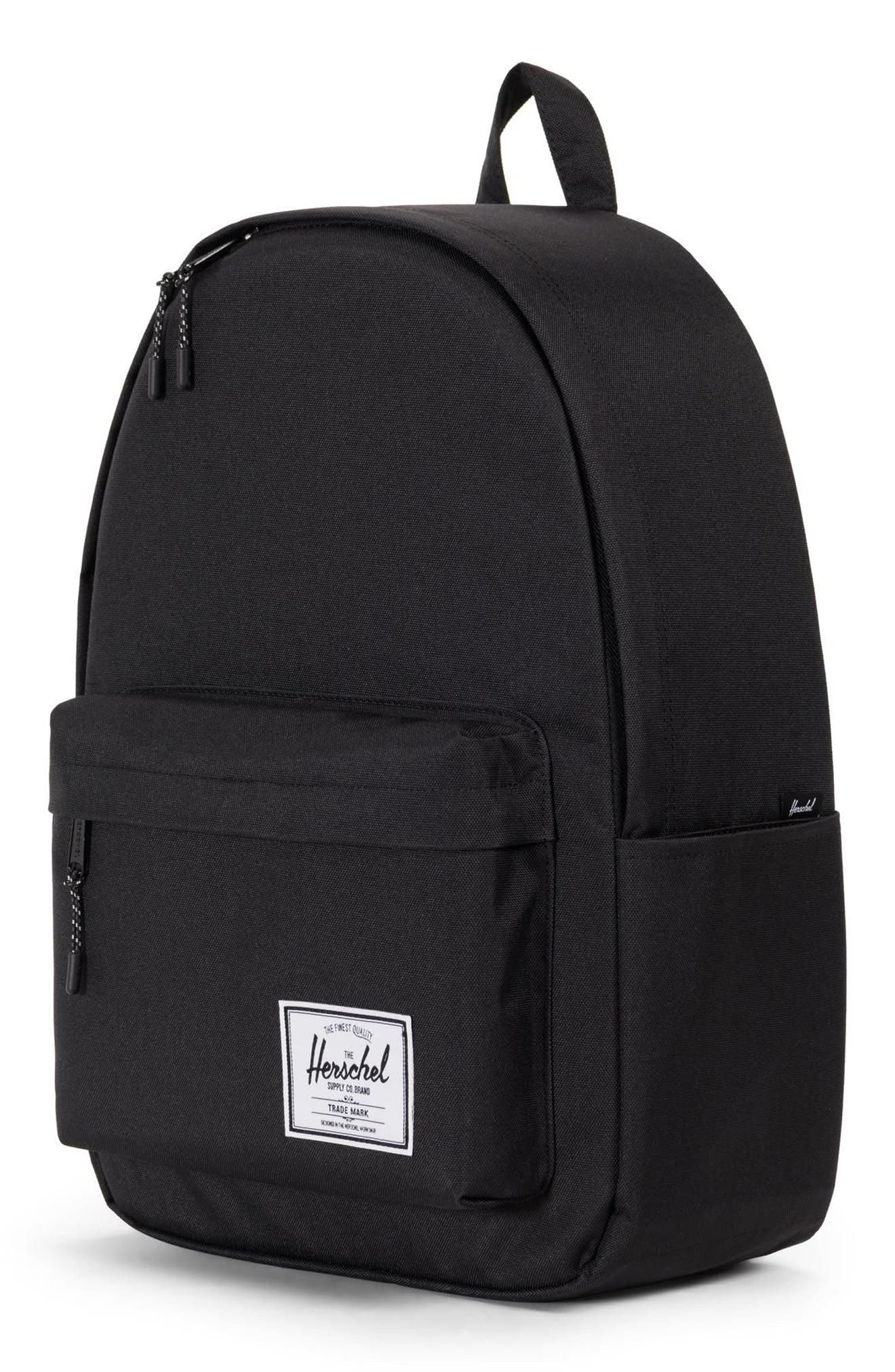 HERSCHEL SUPPLY CO., Classic XL Backpack, Alternate thumbnail 5, color, BLACK