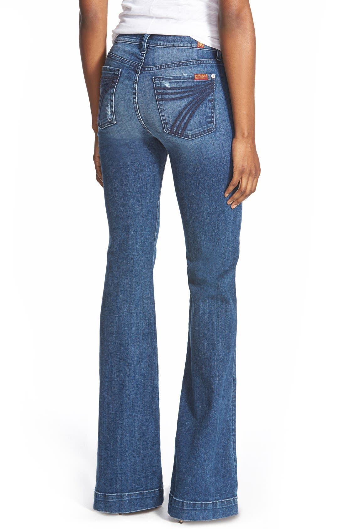 7 FOR ALL MANKIND<SUP>®</SUP>, b(air) Dojo Trouser Jeans, Alternate thumbnail 9, color, 472