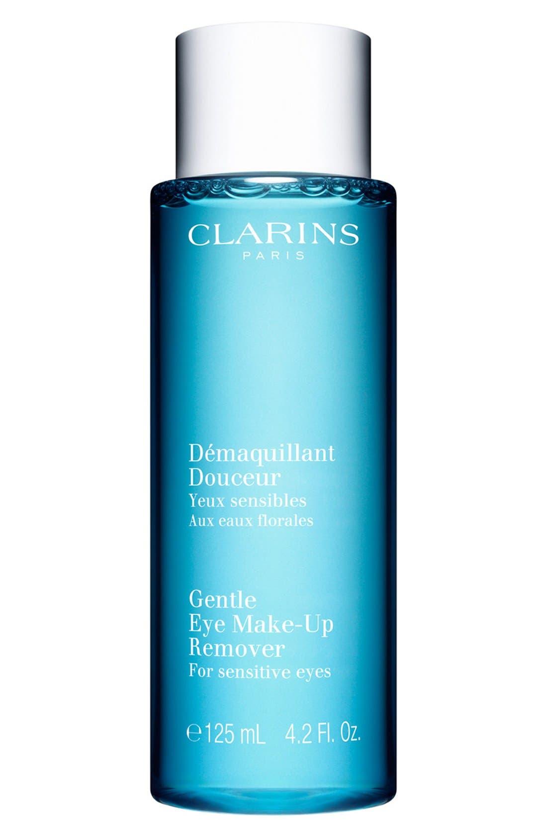 CLARINS Gentle Eye Makeup Remover, Main, color, NO COLOR