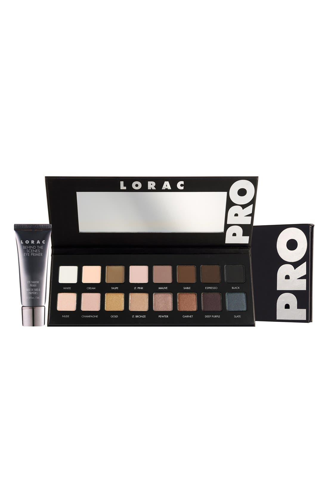LORAC, 'PRO' Palette, Main thumbnail 1, color, 000