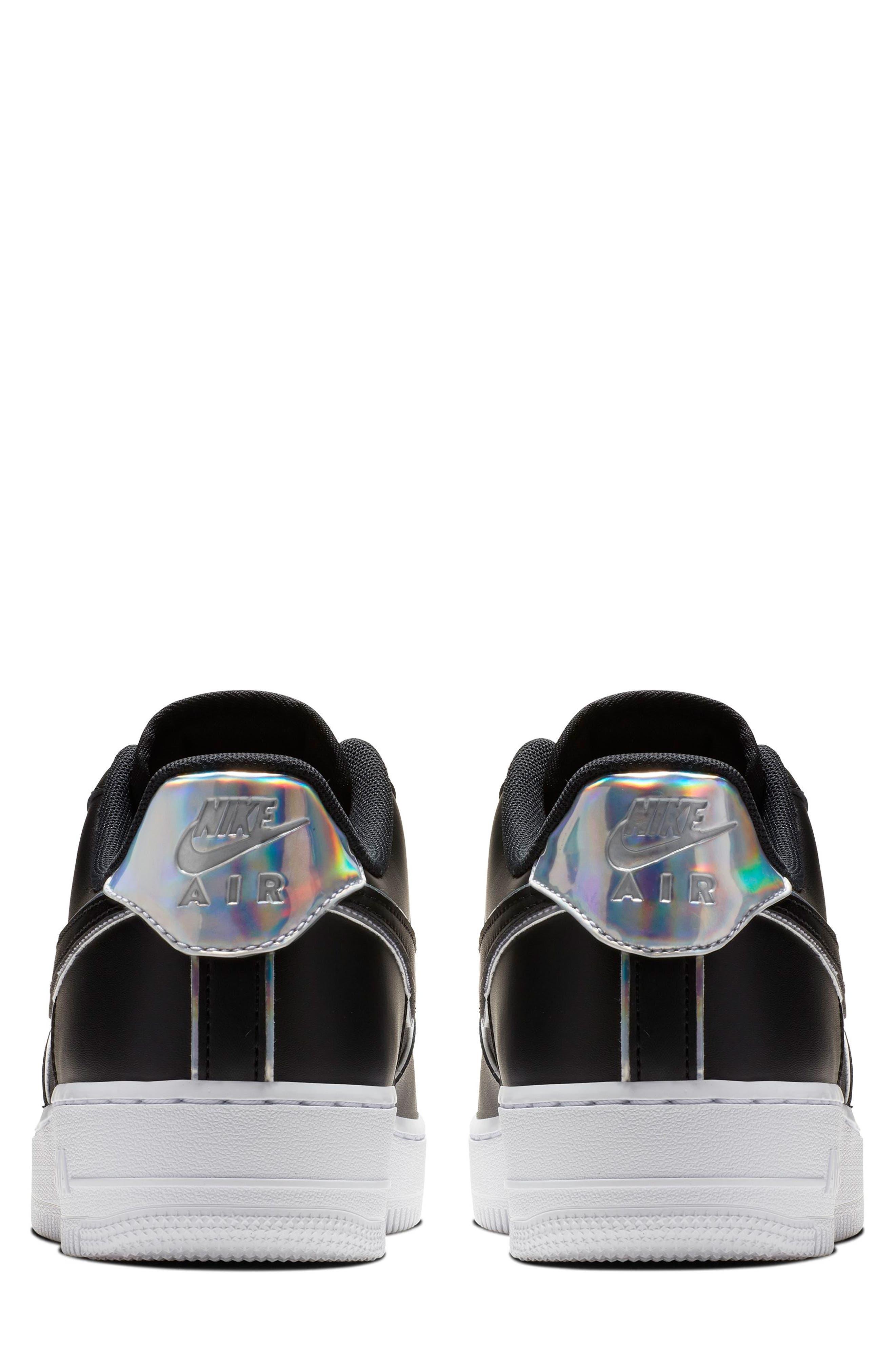 NIKE, Air Force 1 '07 LV8 4 Sneaker, Alternate thumbnail 2, color, 001