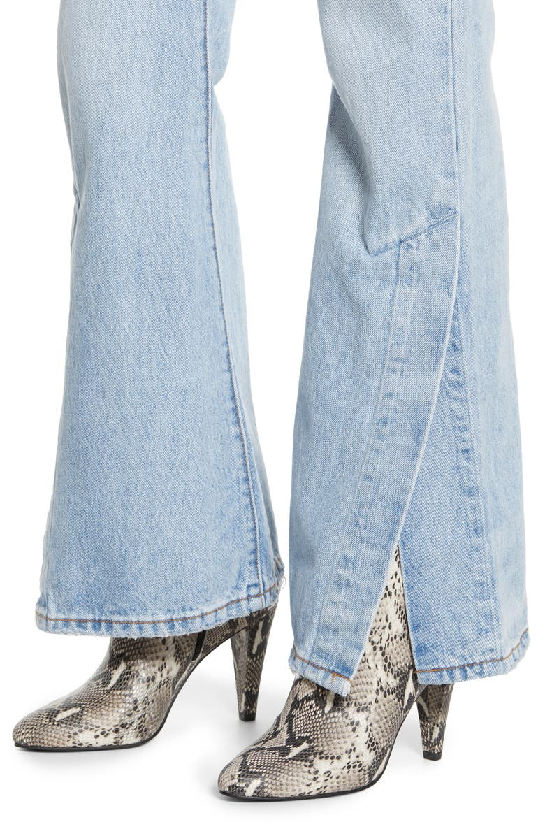 3cff045b5e55cd Levi's Rib Cage Split-Flare Jeans In Dazed And Confused | ModeSens