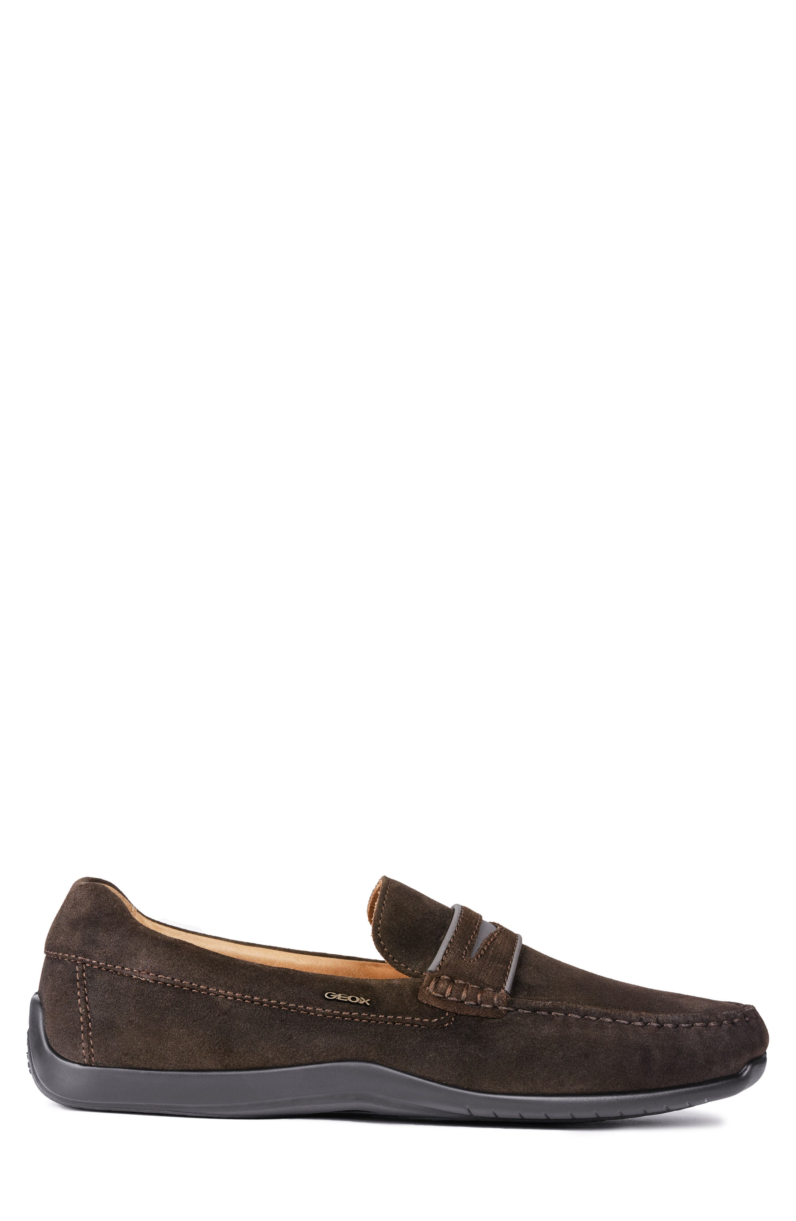 GEOX, Xense Mox 15 Penny Loafer, Alternate thumbnail 3, color, 248