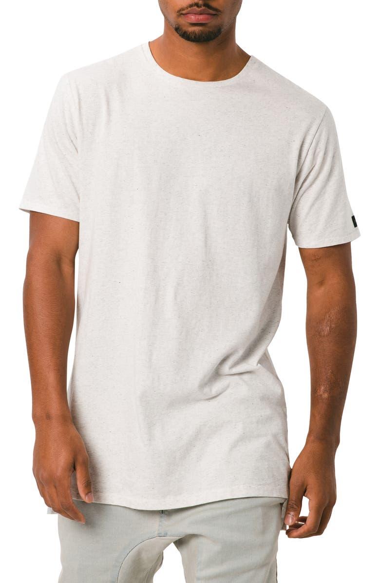 Zanerobe T-shirts FLINTLOCK SOLID LONGLINE T-SHIRT