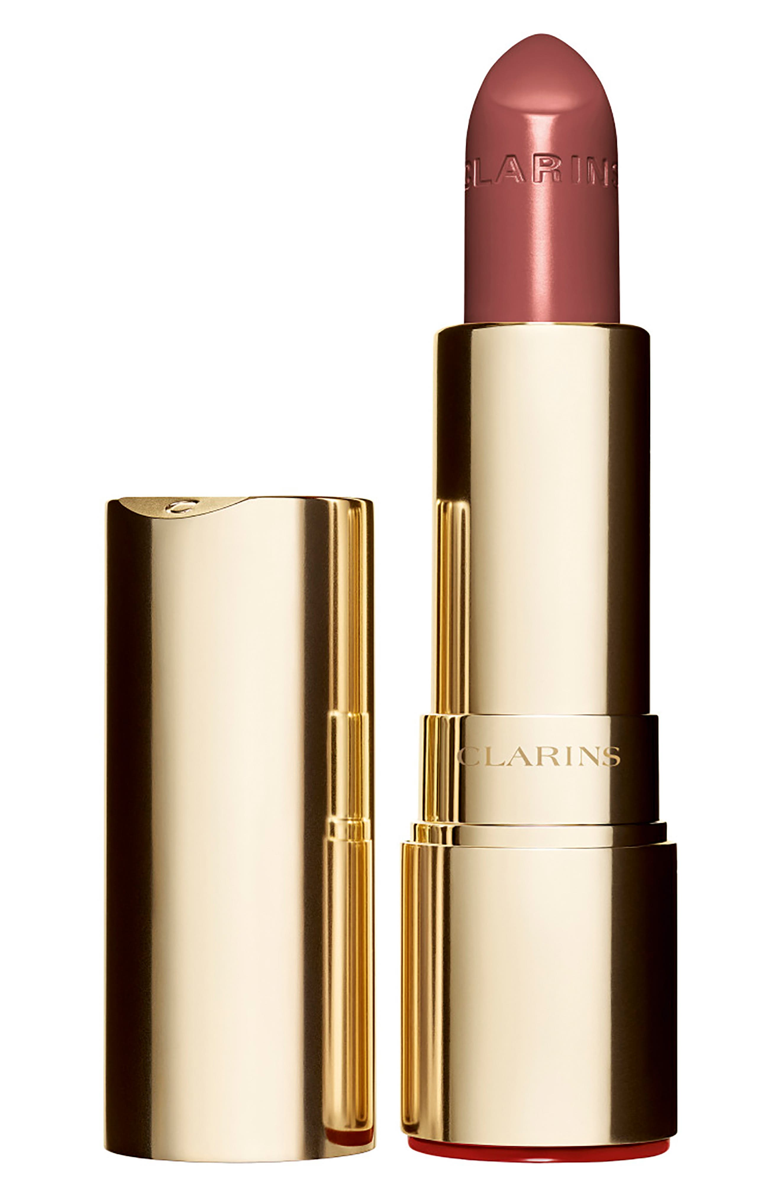 CLARINS, Joli Rouge Lipstick, Main thumbnail 1, color, 757 NUDE BRICK