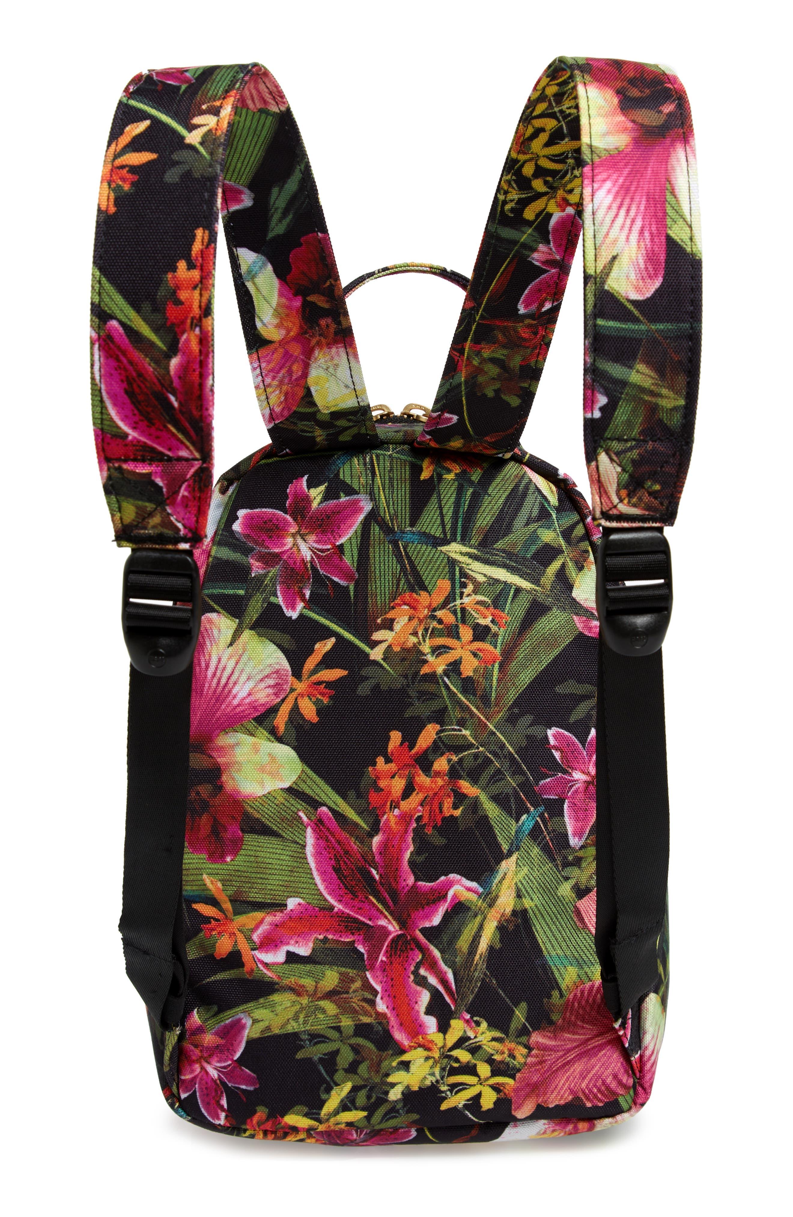 HERSCHEL SUPPLY CO., Mini Nova Backpack, Alternate thumbnail 4, color, JUNGLE HOFFMAN