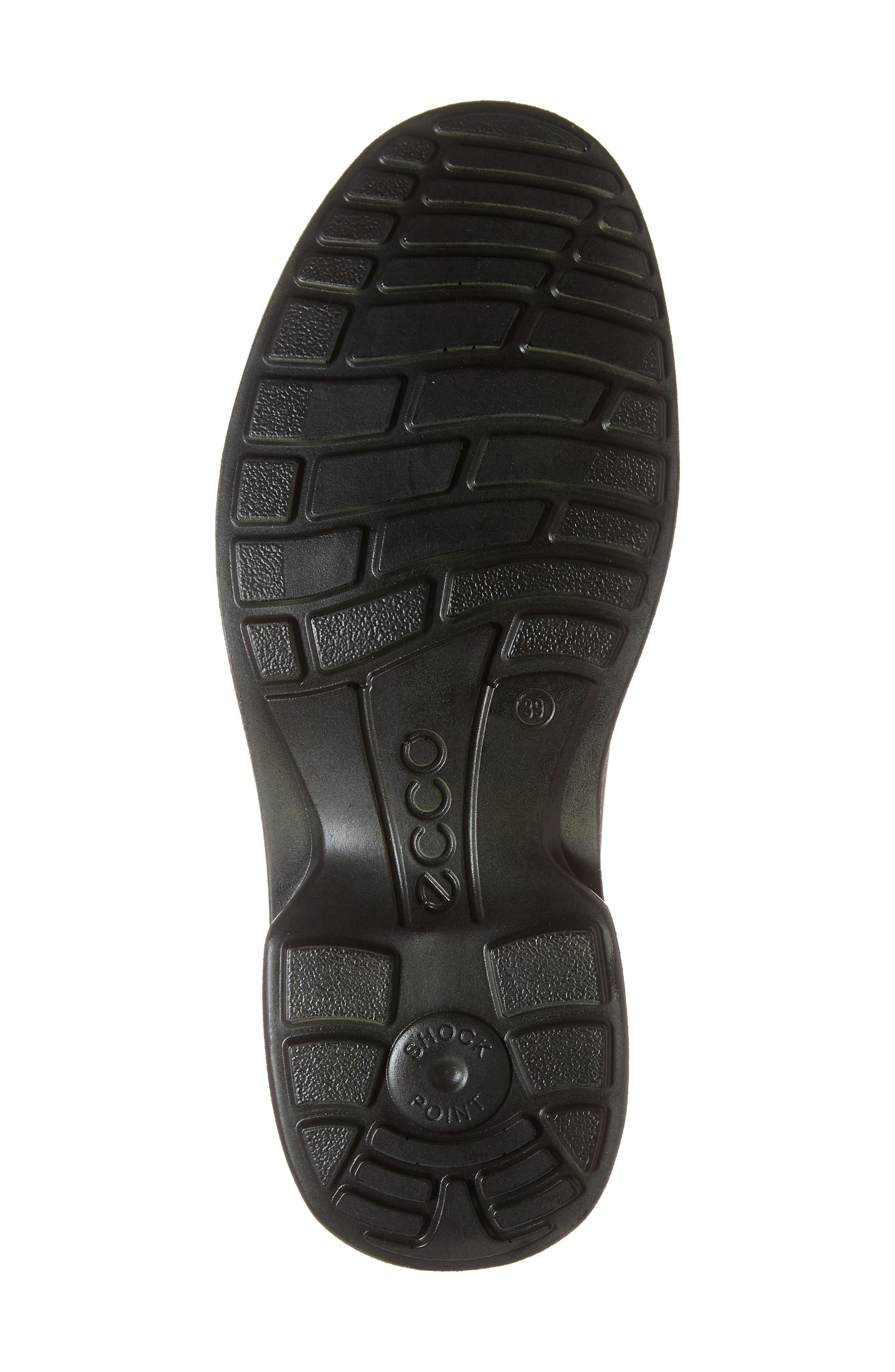 ECCO, Turn Gore-Tex<sup>®</sup> Waterproof Chukka Boot, Alternate thumbnail 6, color, COCOA BROWN
