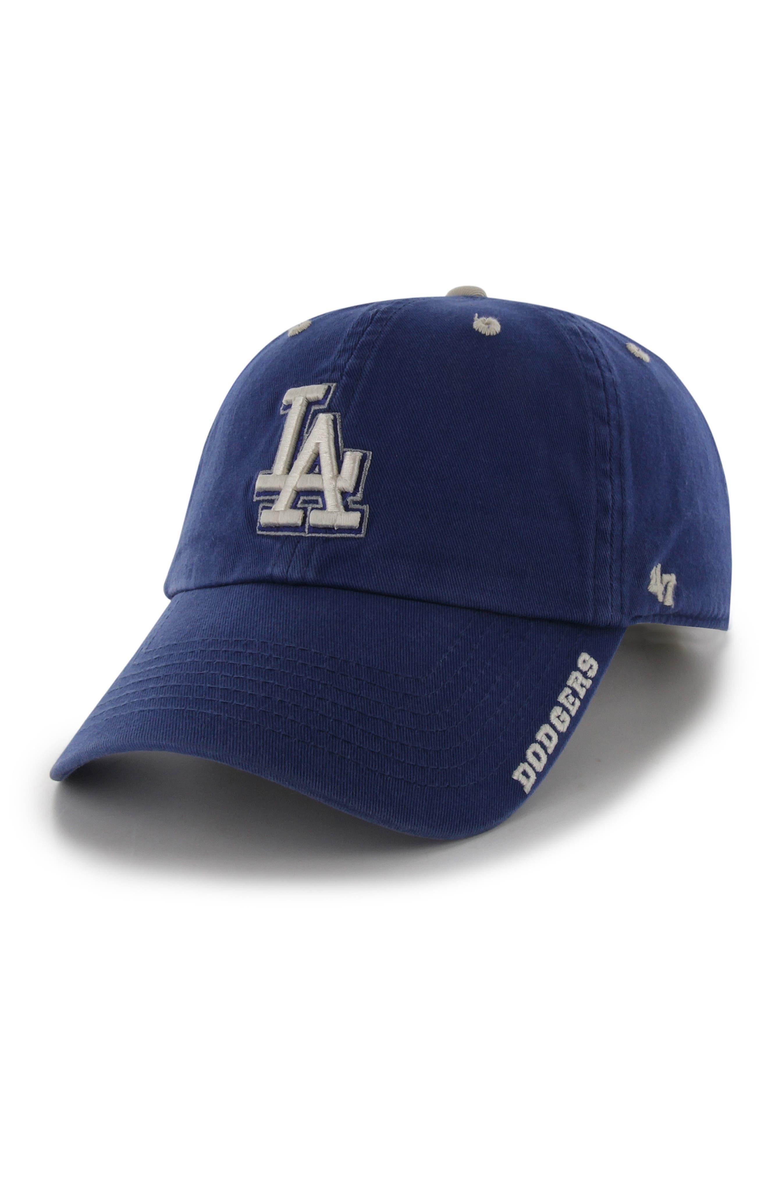 '47, Clean Up Dodgers Ball Cap, Main thumbnail 1, color, LA DODGERS