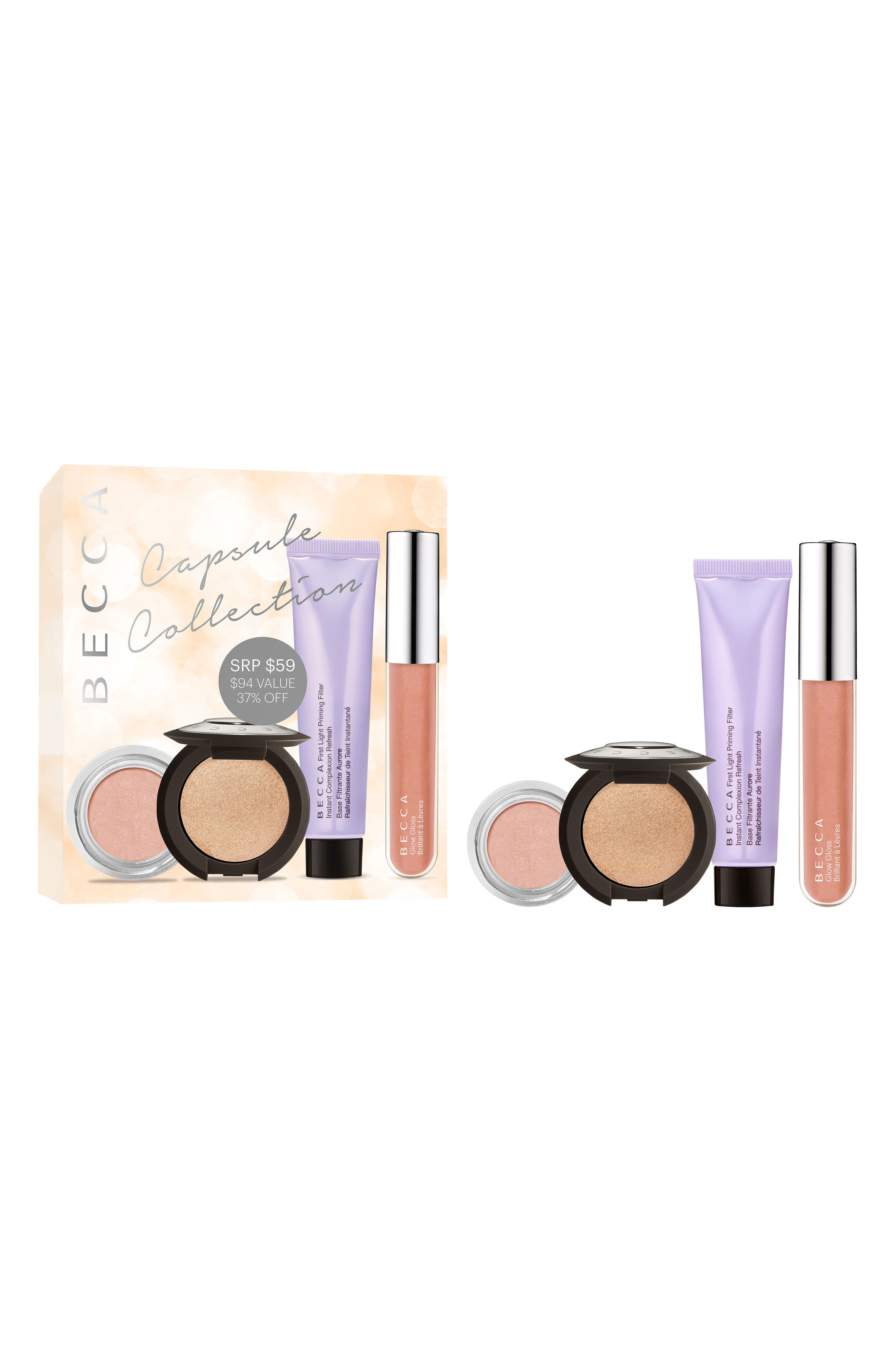 BECCA COSMETICS, BECCA Capsule Collection, Alternate thumbnail 5, color, 000