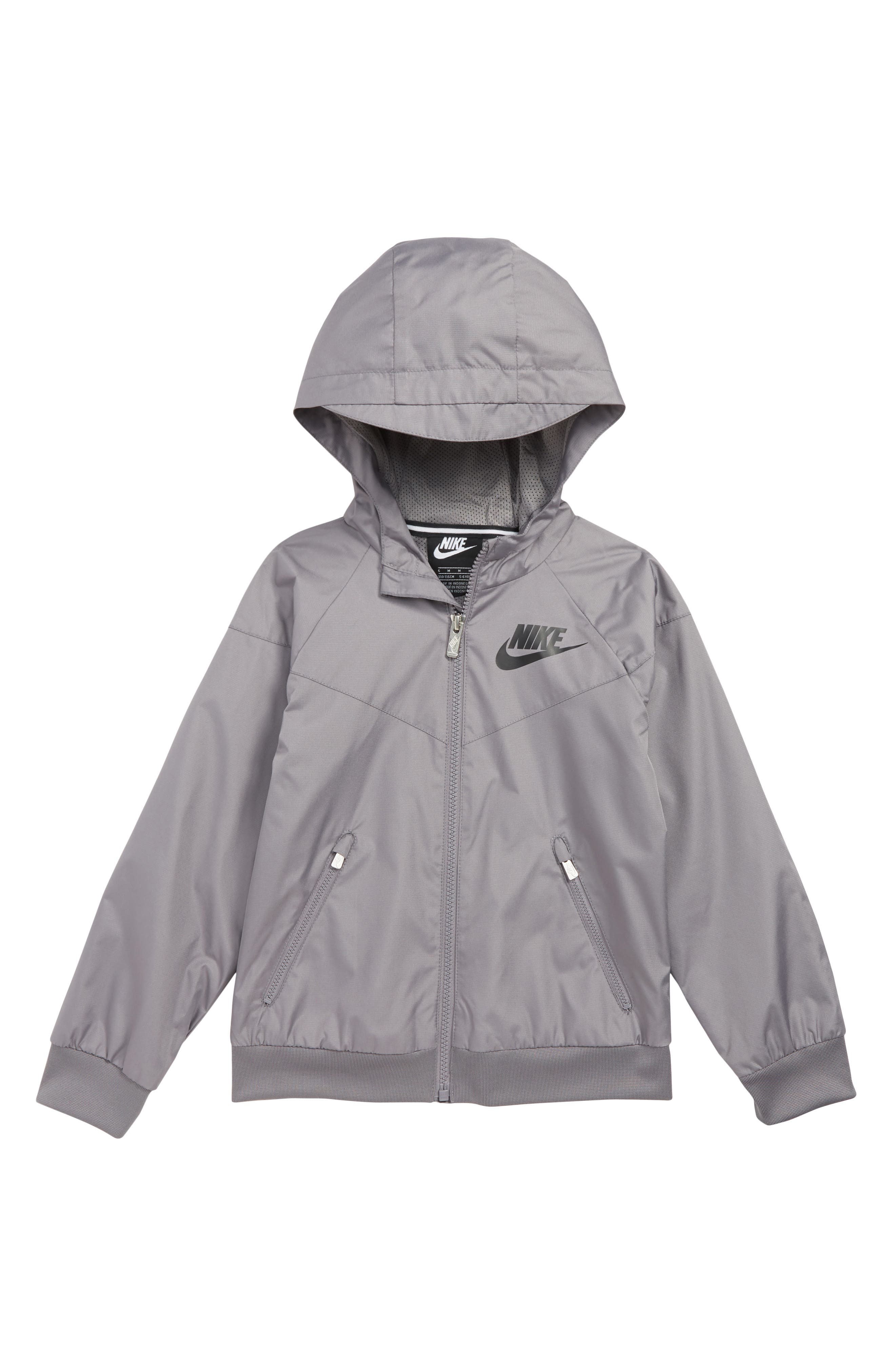 NIKE, Windrunner Water Resistant Hooded Jacket, Main thumbnail 1, color, 032