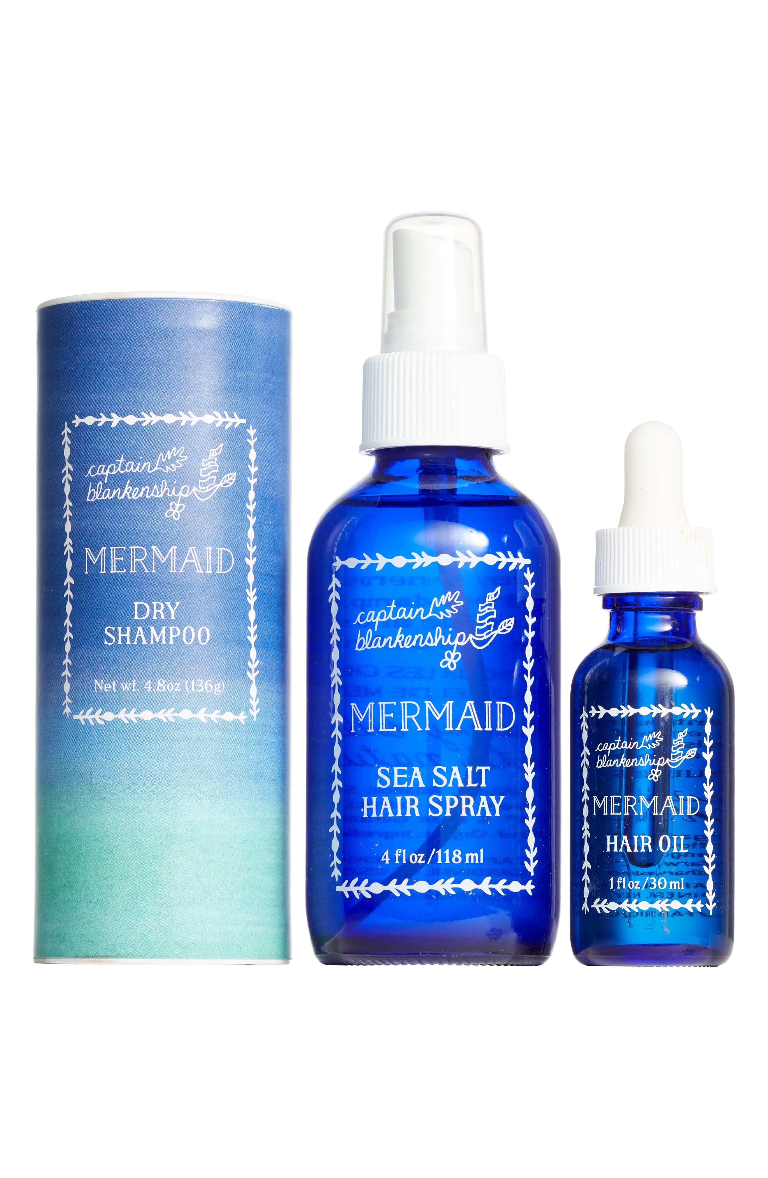 CAPTAIN BLANKENSHIP, Mermaid Hair Care Set, Main thumbnail 1, color, 440