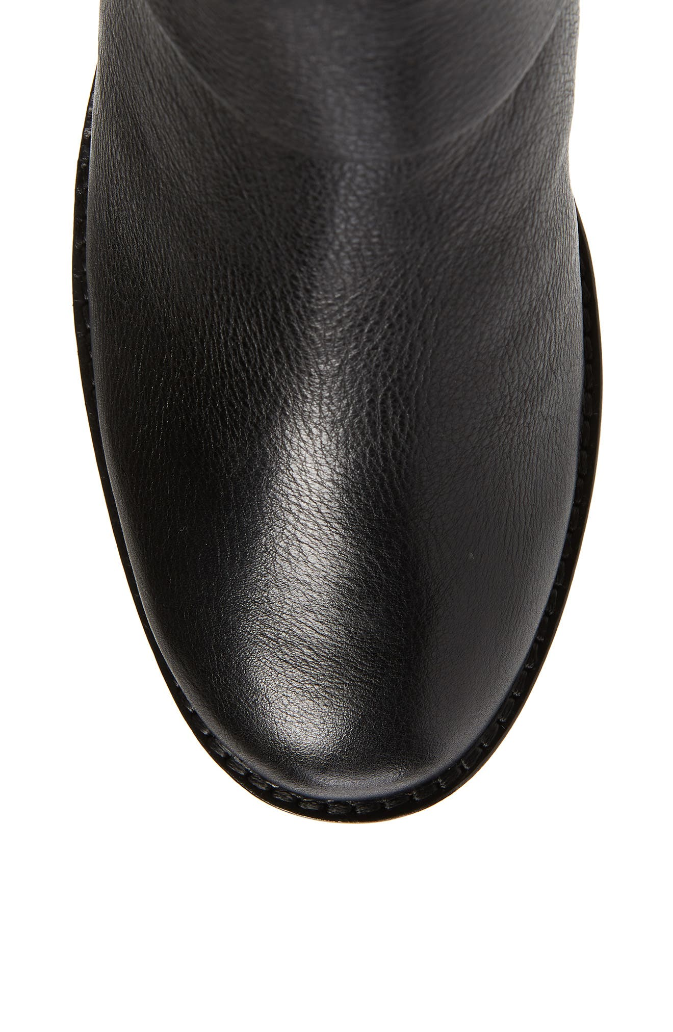 GENTLE SOULS BY KENNETH COLE, Verona Knee-High Riding Boot, Alternate thumbnail 5, color, 001