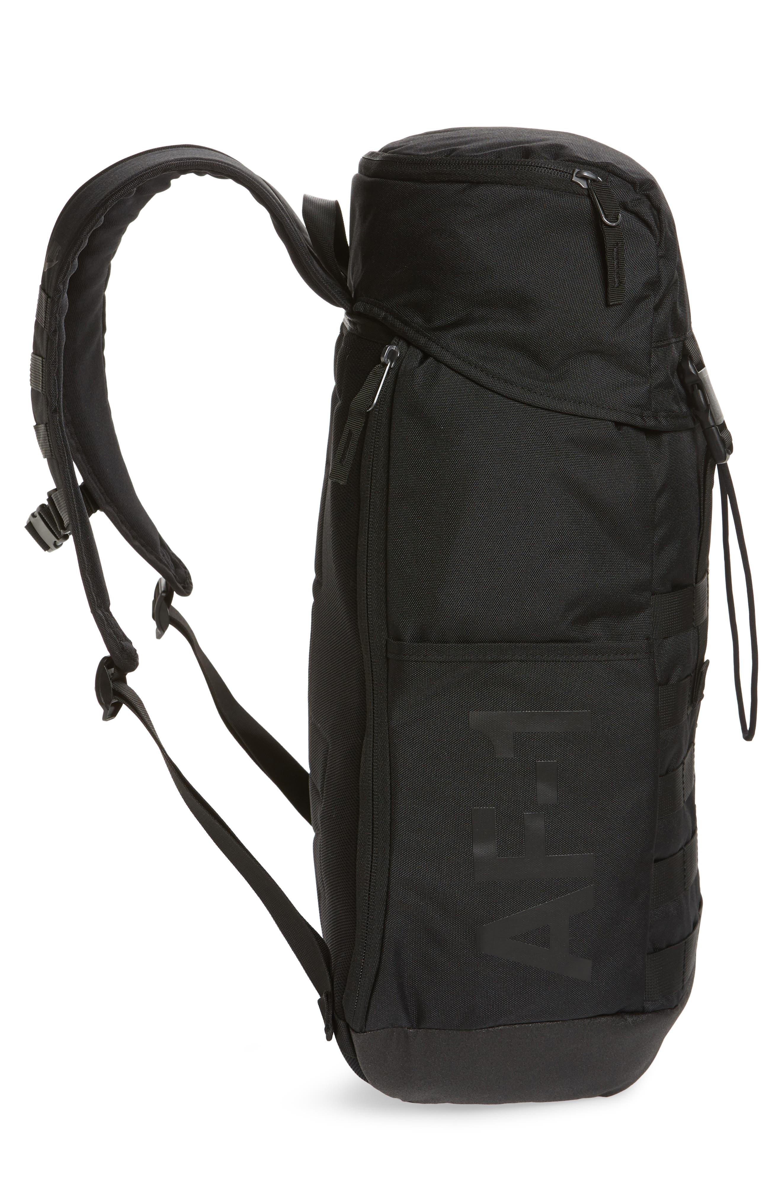 NIKE, AF-1 Backpack, Alternate thumbnail 6, color, 001