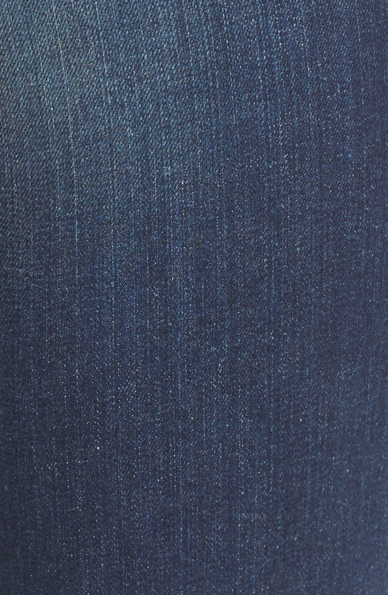 KUT FROM THE KLOTH, 'Catherine' Slim Boyfriend Jeans, Alternate thumbnail 5, color, CAREFULNESS