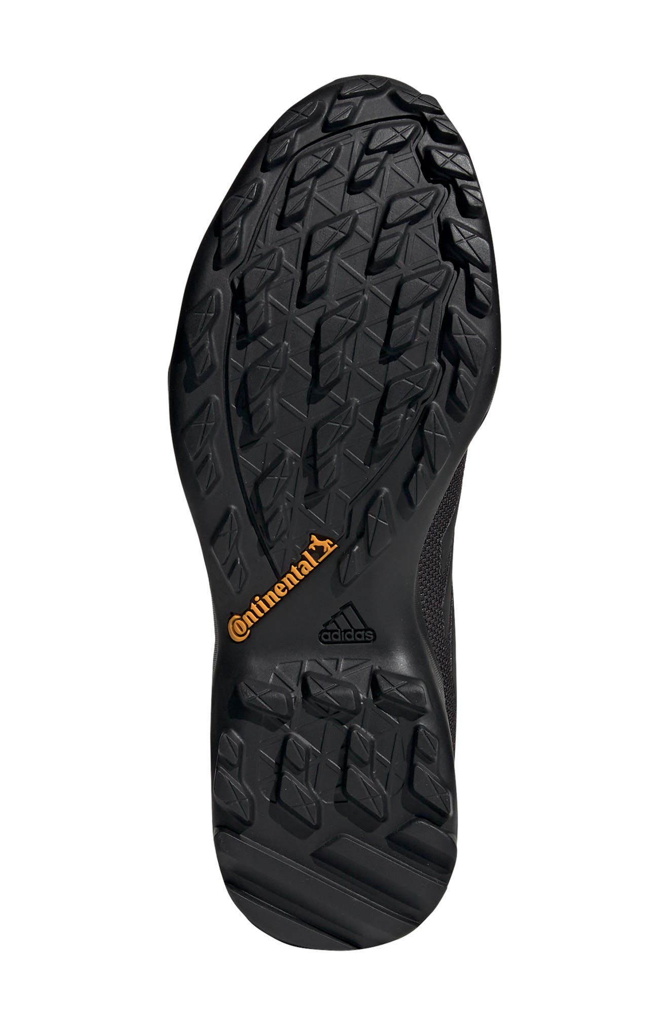 ADIDAS, AX3 Mid Gore-Tex<sup>®</sup> Waterproof Hiking Shoe, Alternate thumbnail 5, color, BLACK/ BLACK/ CARBON
