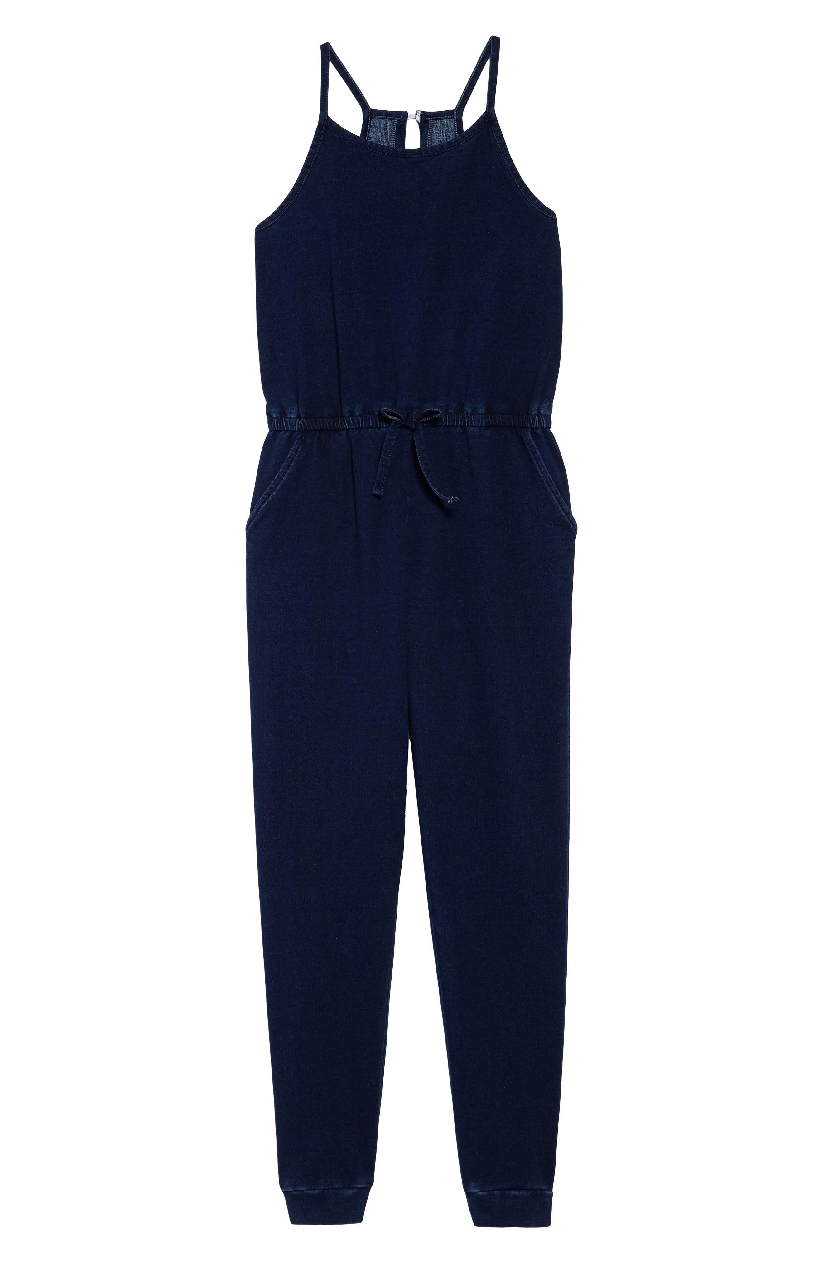 Girls Habitual Kids Lorrie Jumpsuit Size 12  Blue