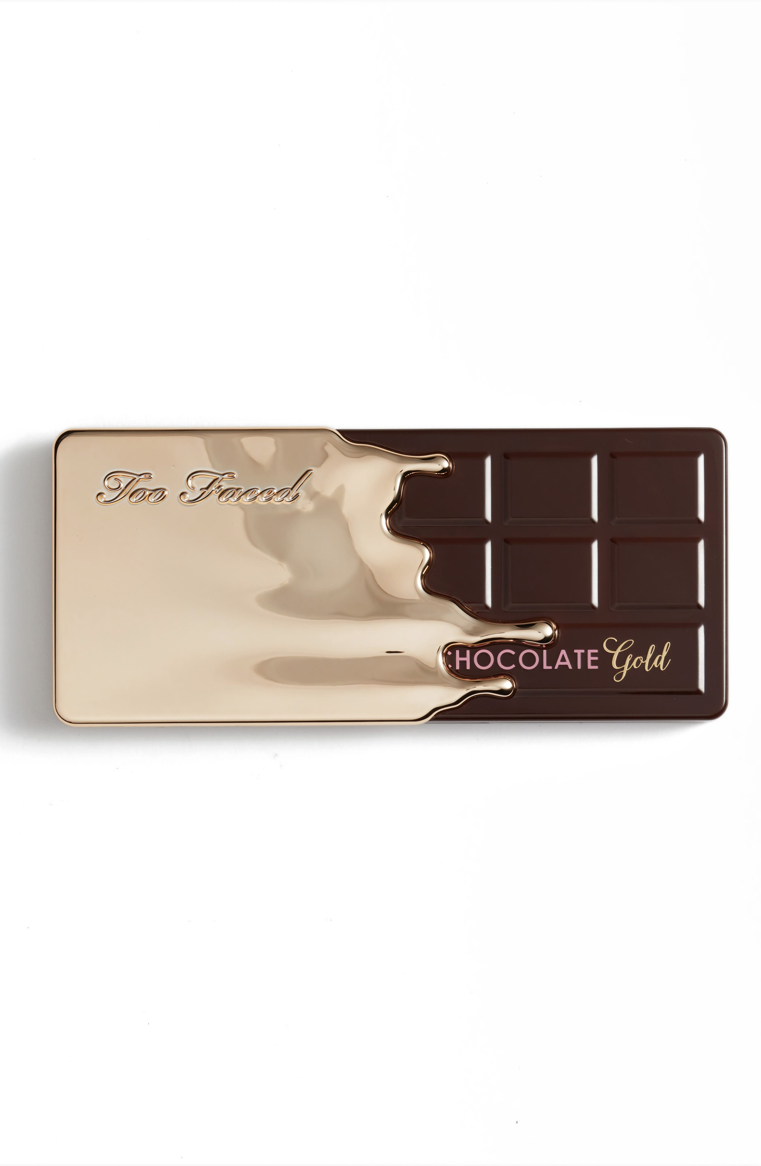TOO FACED, Sex, Gold and Chocolate Set, Alternate thumbnail 3, color, NO COLOR