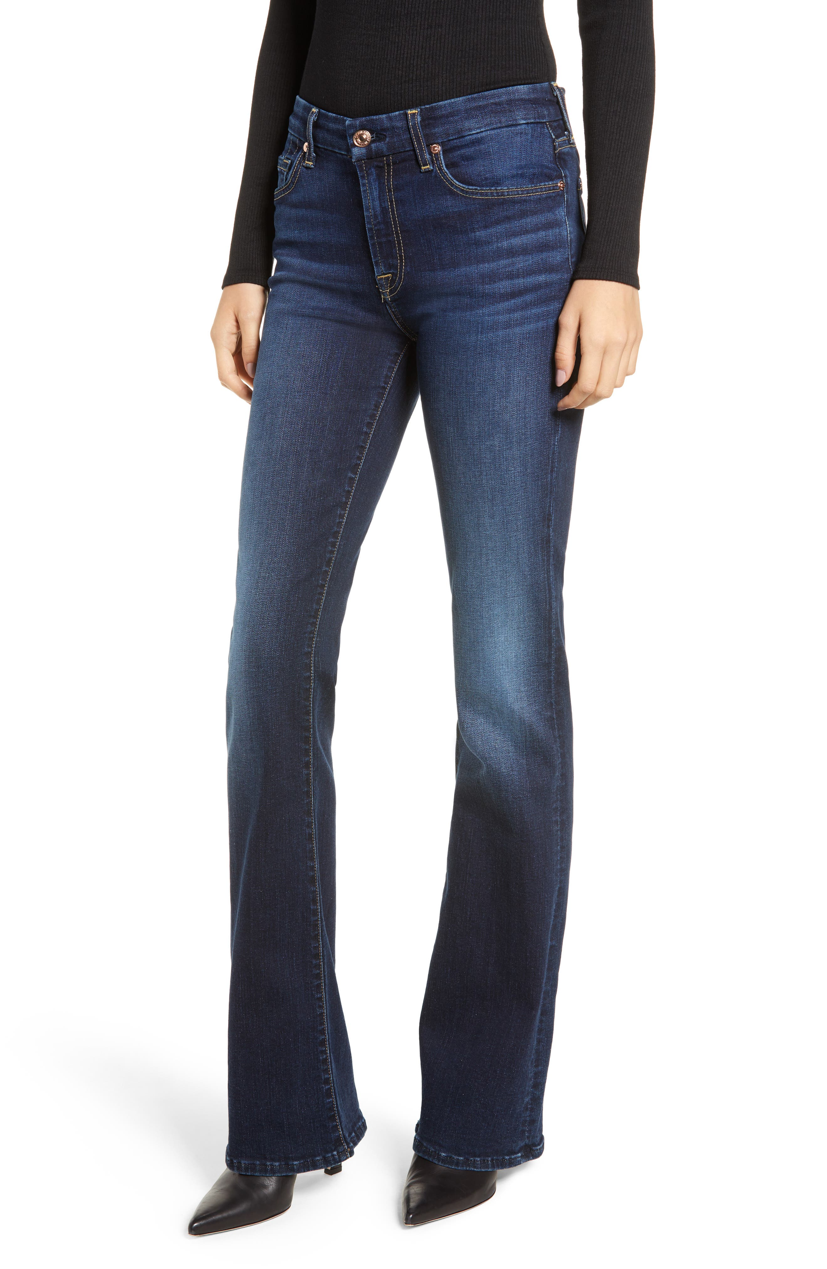7 FOR ALL MANKIND<SUP>®</SUP>, b(air) Kimmie Bootcut Jeans, Main thumbnail 1, color, AUTHENTIC FATE
