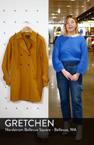 Easy Oversize Trench, sales video thumbnail