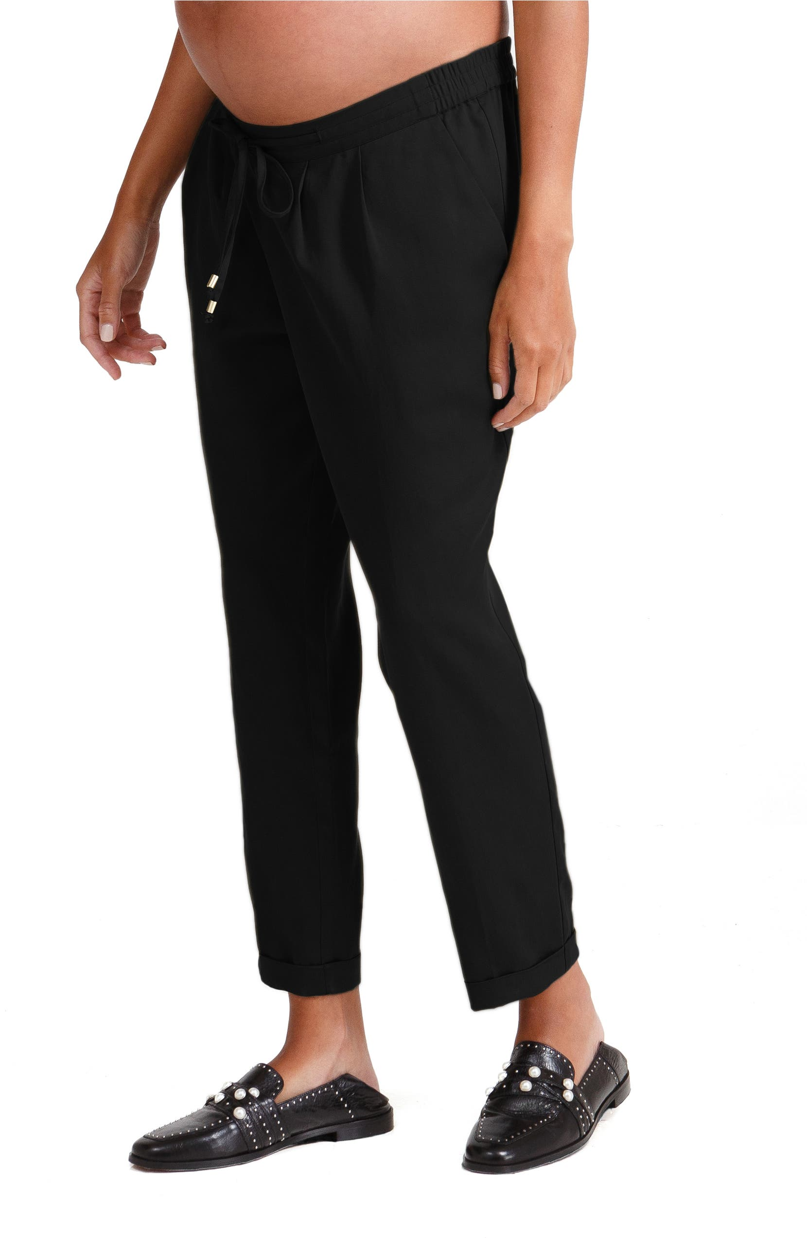 5f07c5efec5b0 Ingrid & Isabel® Under Belly Tapered Maternity Ankle Pants | Nordstrom